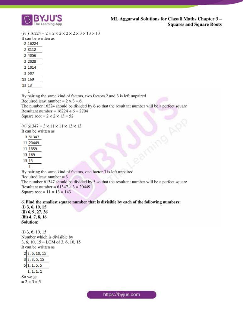 ml aggarwal sol mathematics class 8 ch 3 22