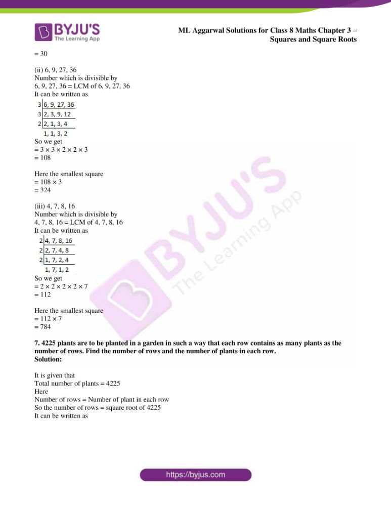 ml aggarwal sol mathematics class 8 ch 3 23