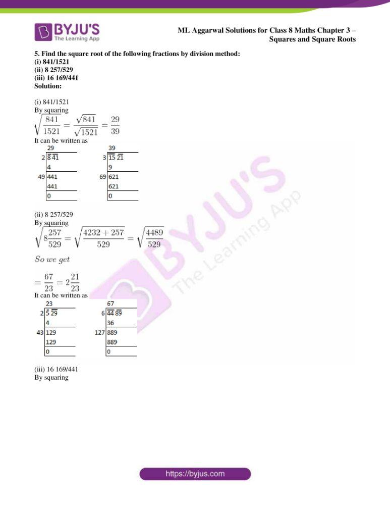 ml aggarwal sol mathematics class 8 ch 3 33