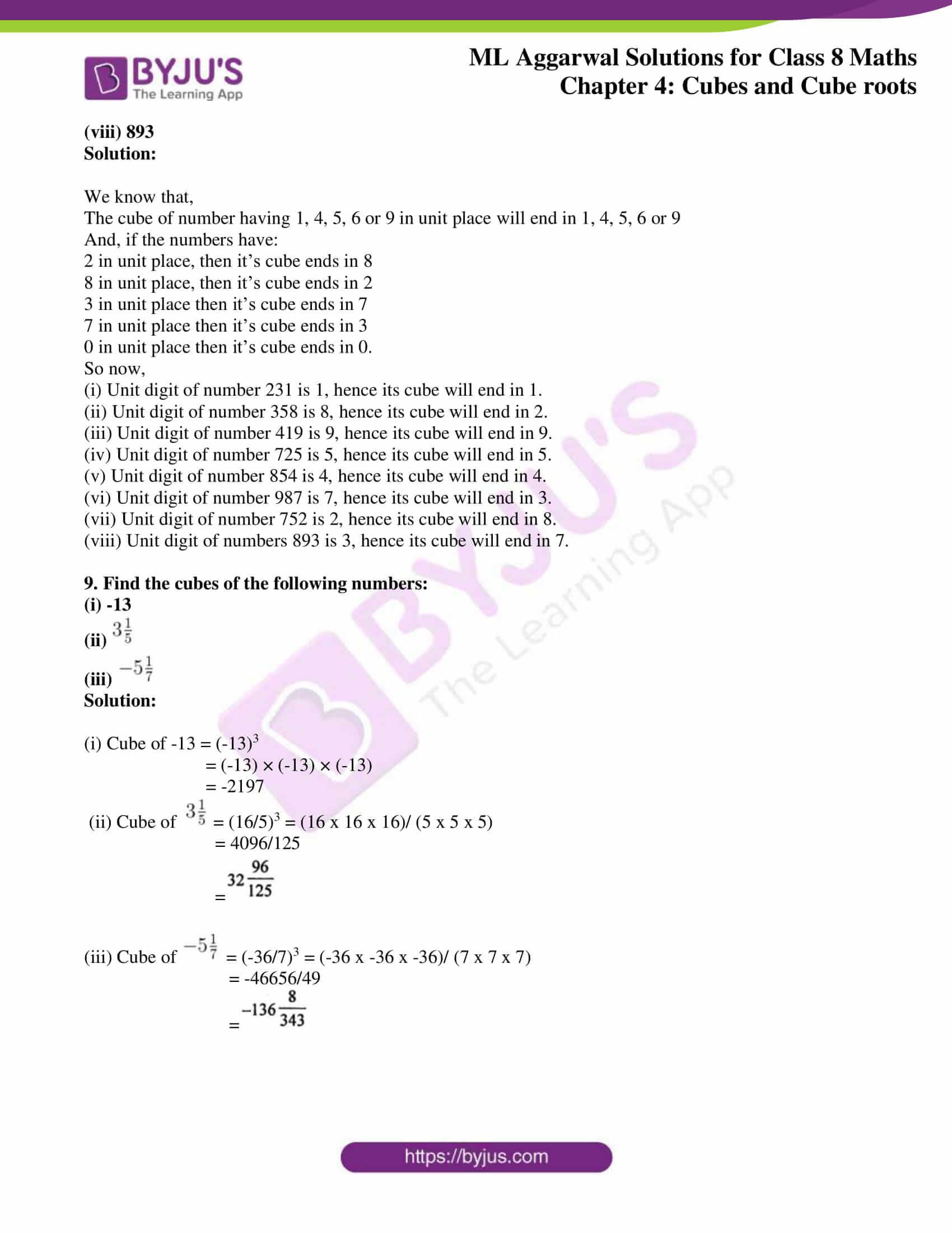 ml aggarwal sol mathematics class 8 ch 4 09