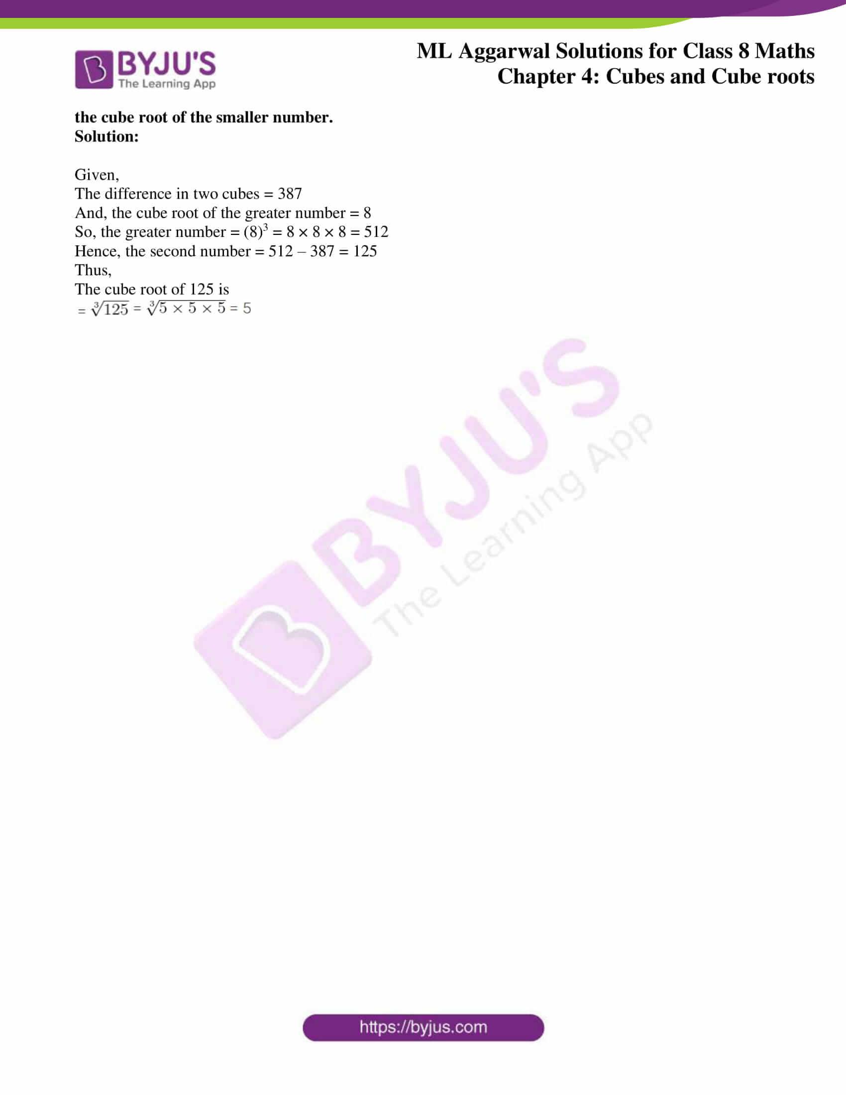 ml aggarwal sol mathematics class 8 ch 4 22