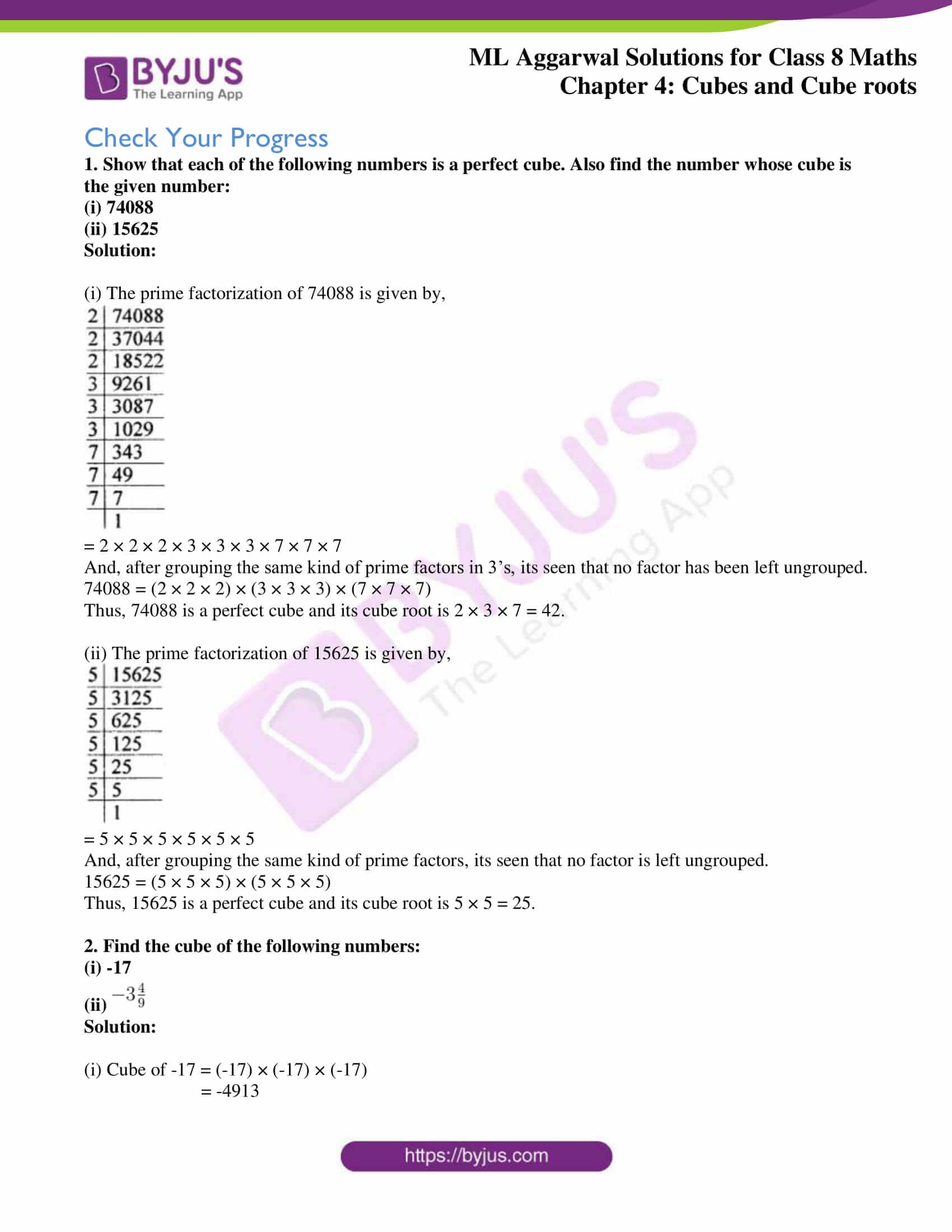 ml aggarwal sol mathematics class 8 ch 4 23