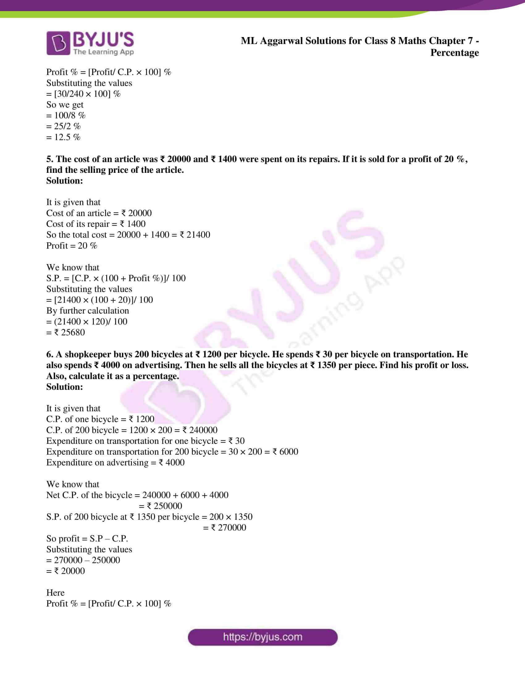 ml aggarwal sol mathematics class 8 ch 7 18
