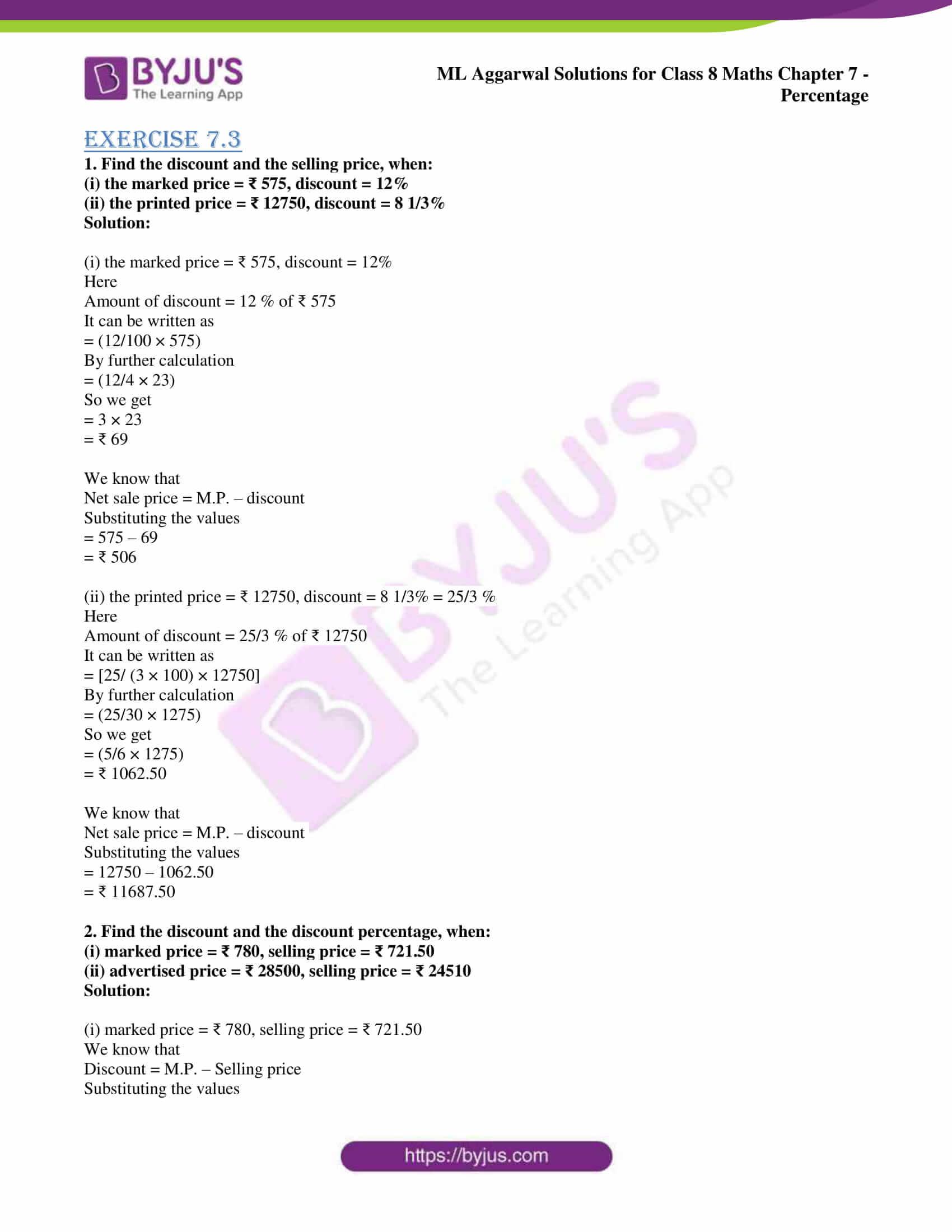 ml aggarwal sol mathematics class 8 ch 7 23