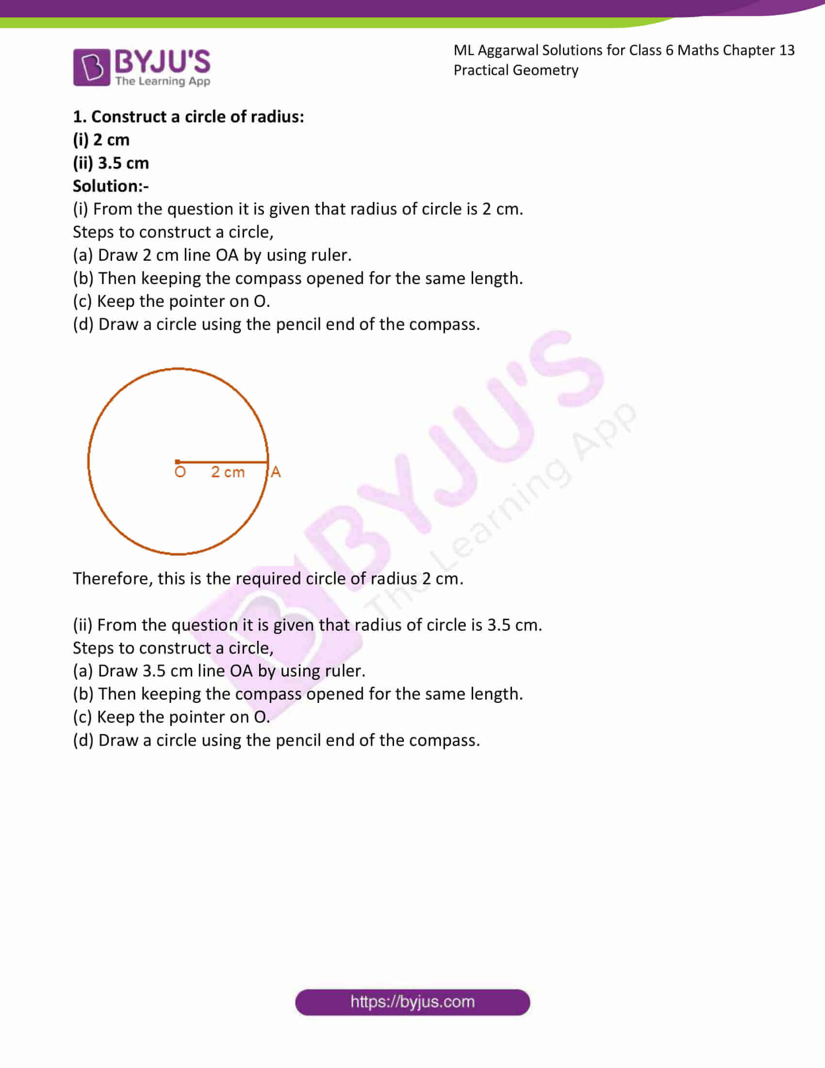 ml aggarwal solutions for class 6 maths chapter 13 1