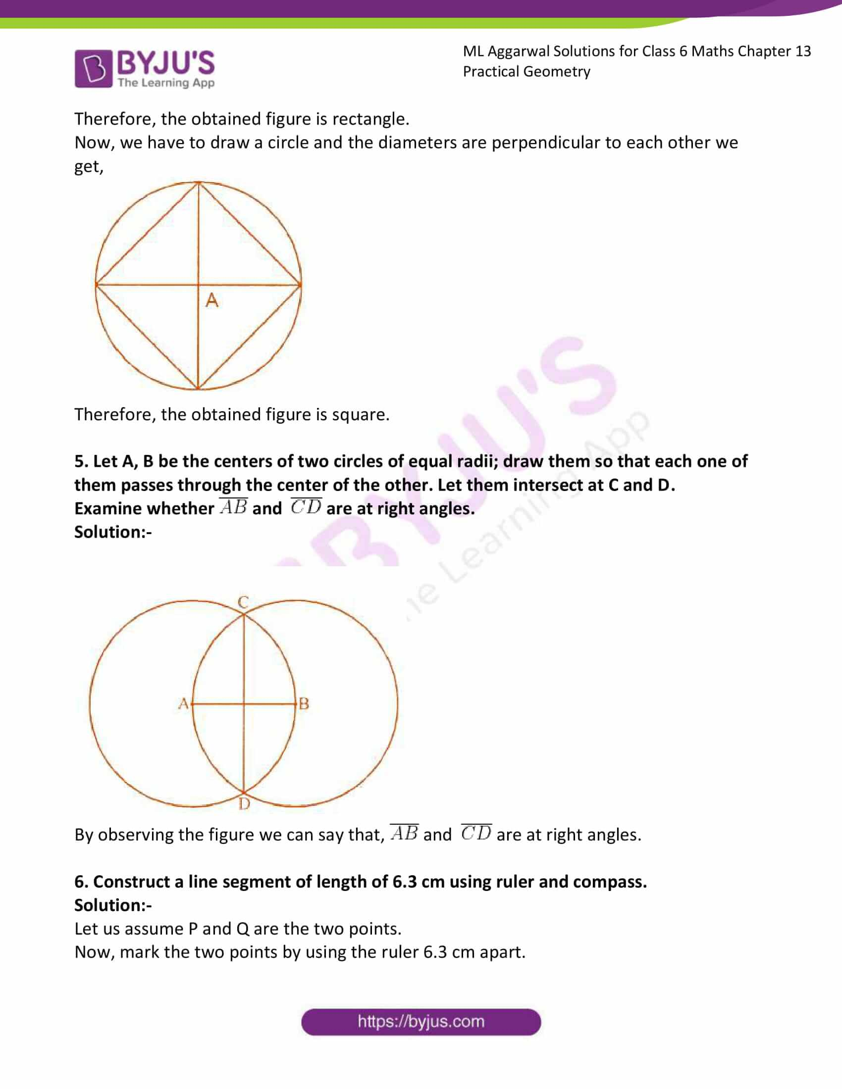 ml aggarwal solutions for class 6 maths chapter 13 5