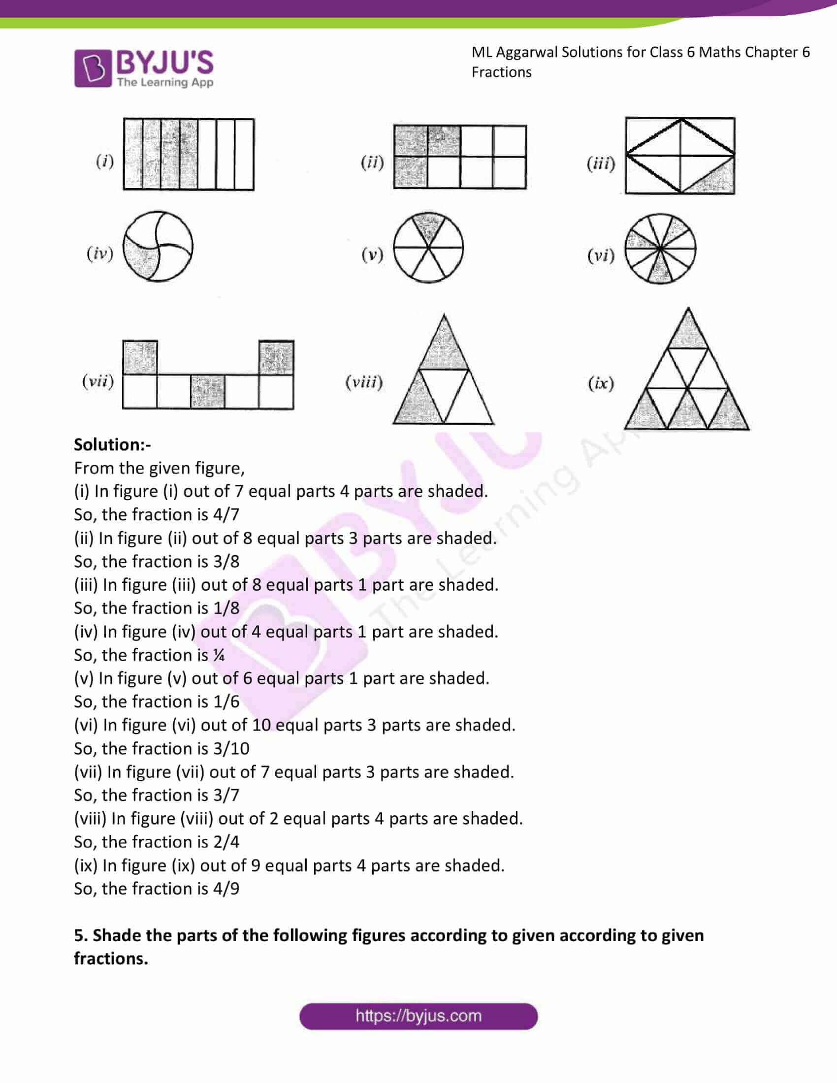 ml aggarwal solutions for class 6 maths chapter 6 2