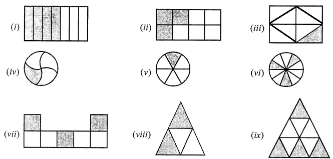 ML Aggarwal Solutions for Class 6 Maths Chapter 6 Fractions Image 1