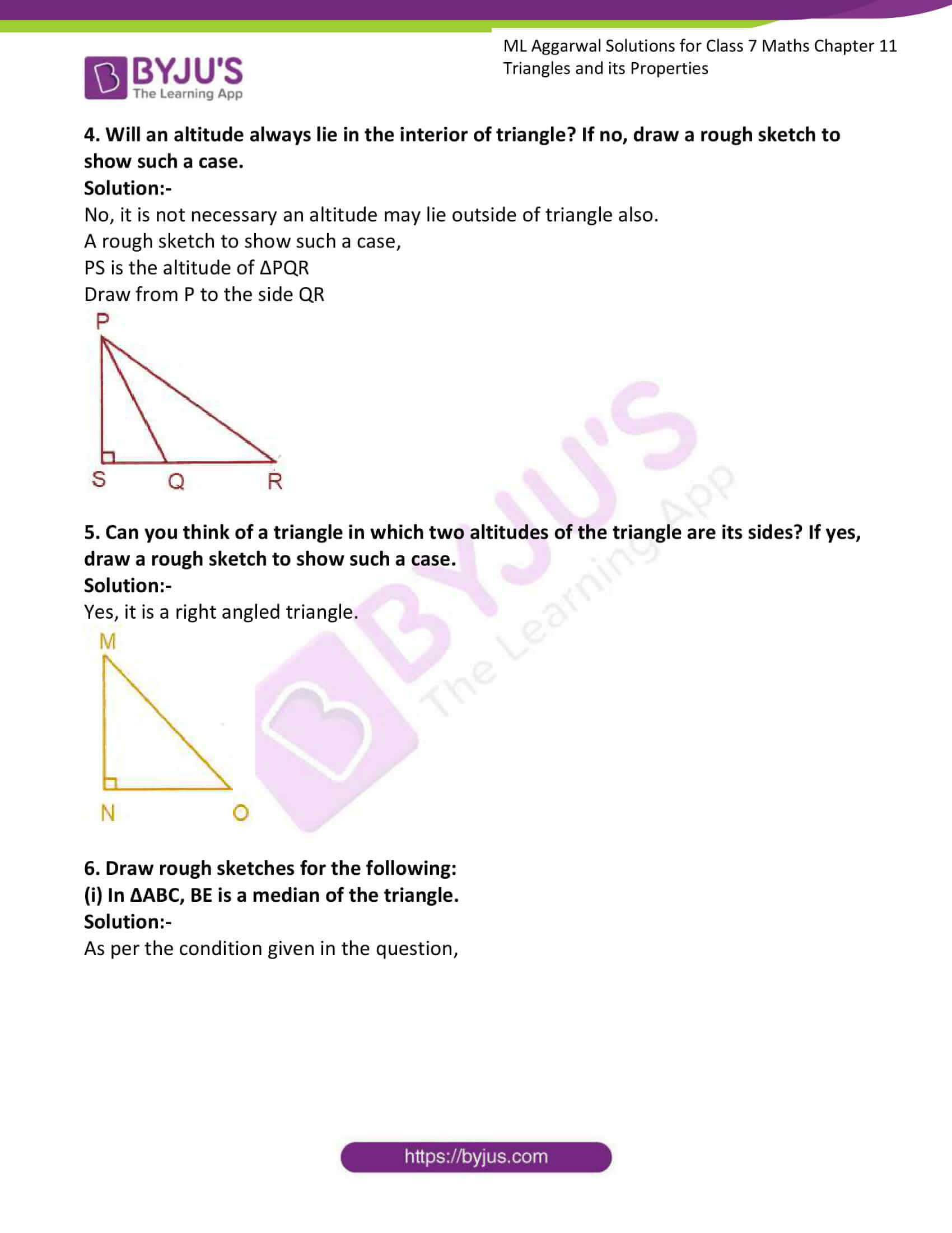 ml aggarwal solutions for class 7 maths chapter 11 3