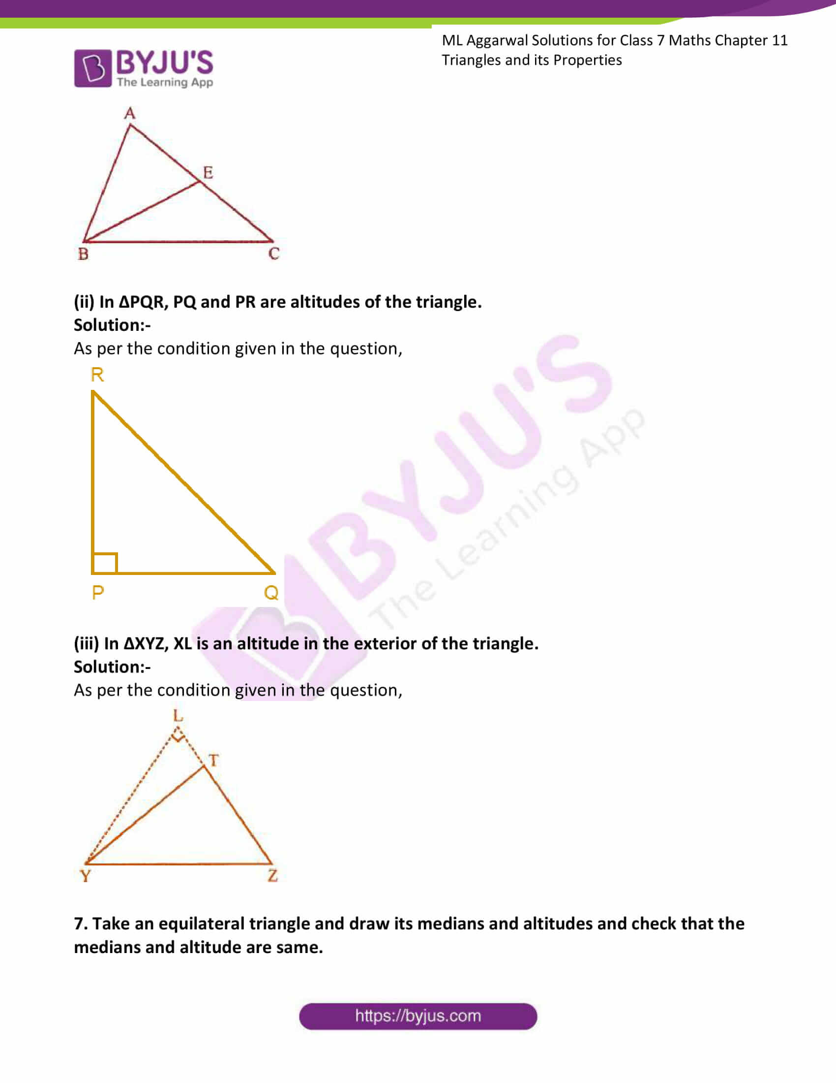 ml aggarwal solutions for class 7 maths chapter 11 4
