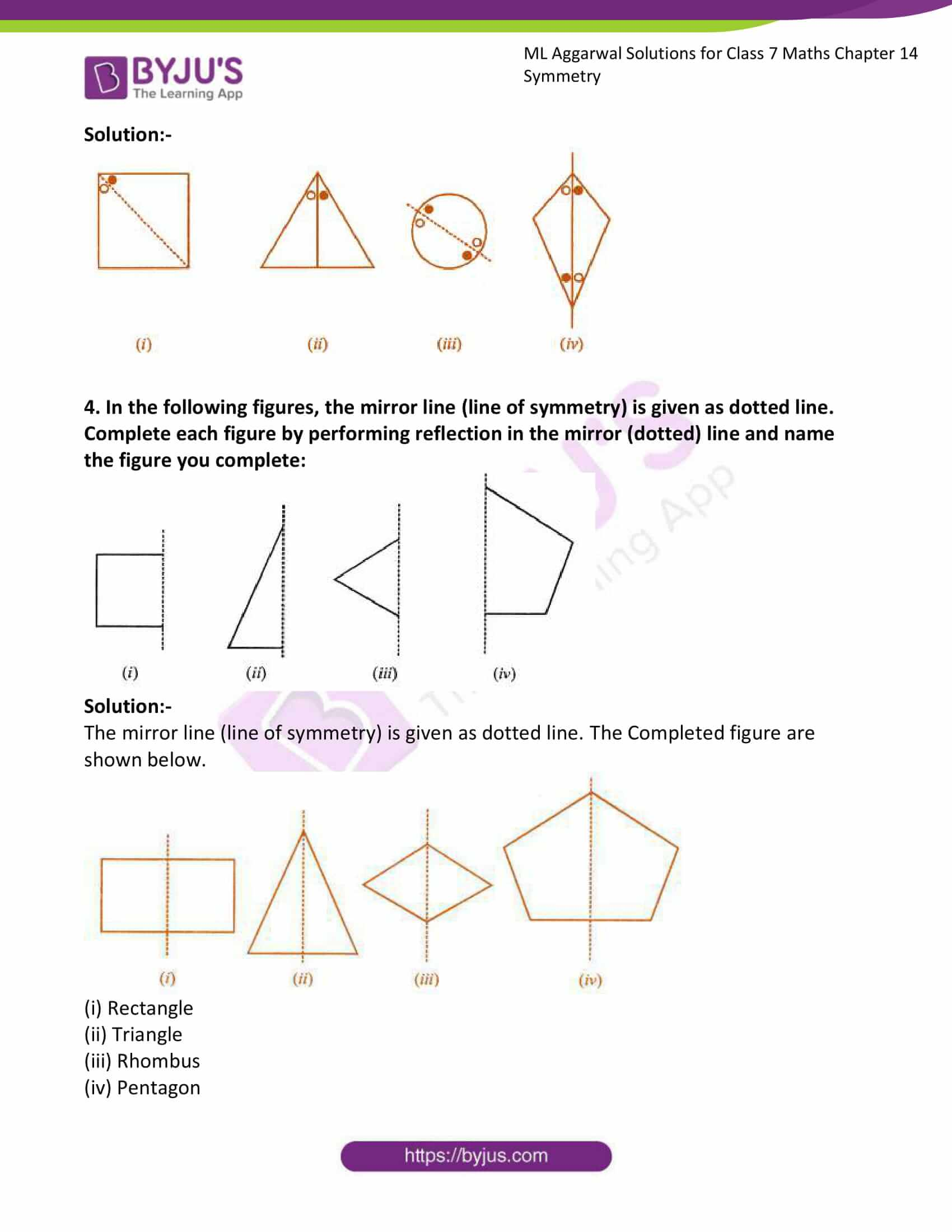 ml aggarwal solutions for class 7 maths chapter 14 3