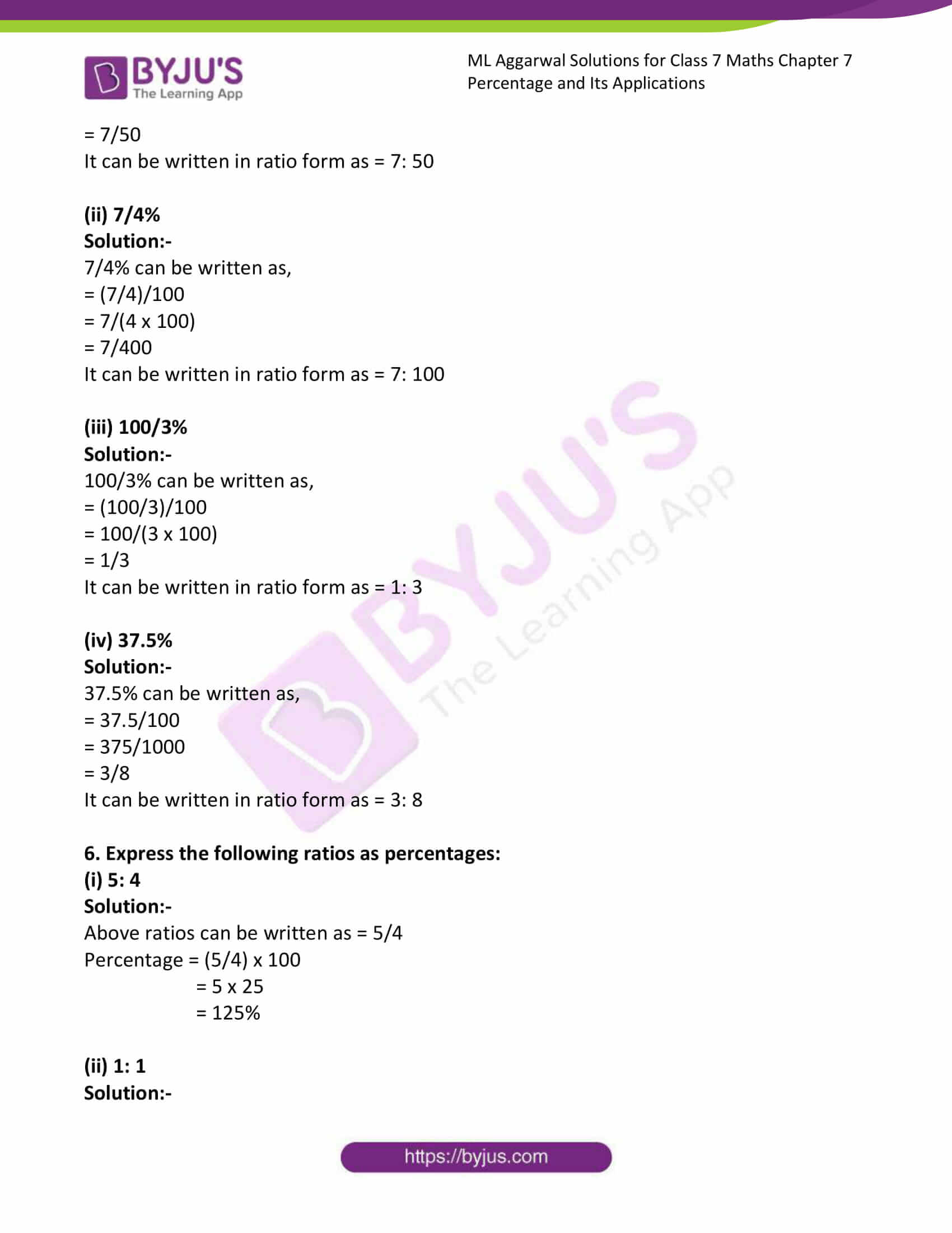 ml aggarwal solutions for class 7 maths chapter 7 6
