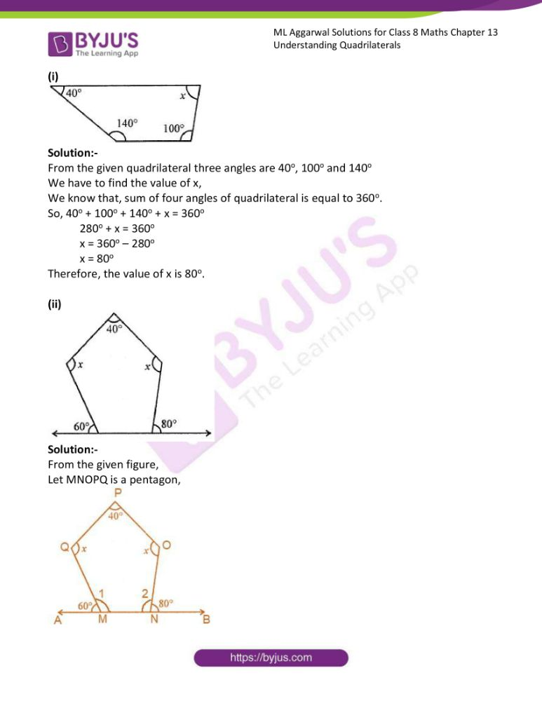 ml aggarwal solutions for class 8 maths chapter 13 10