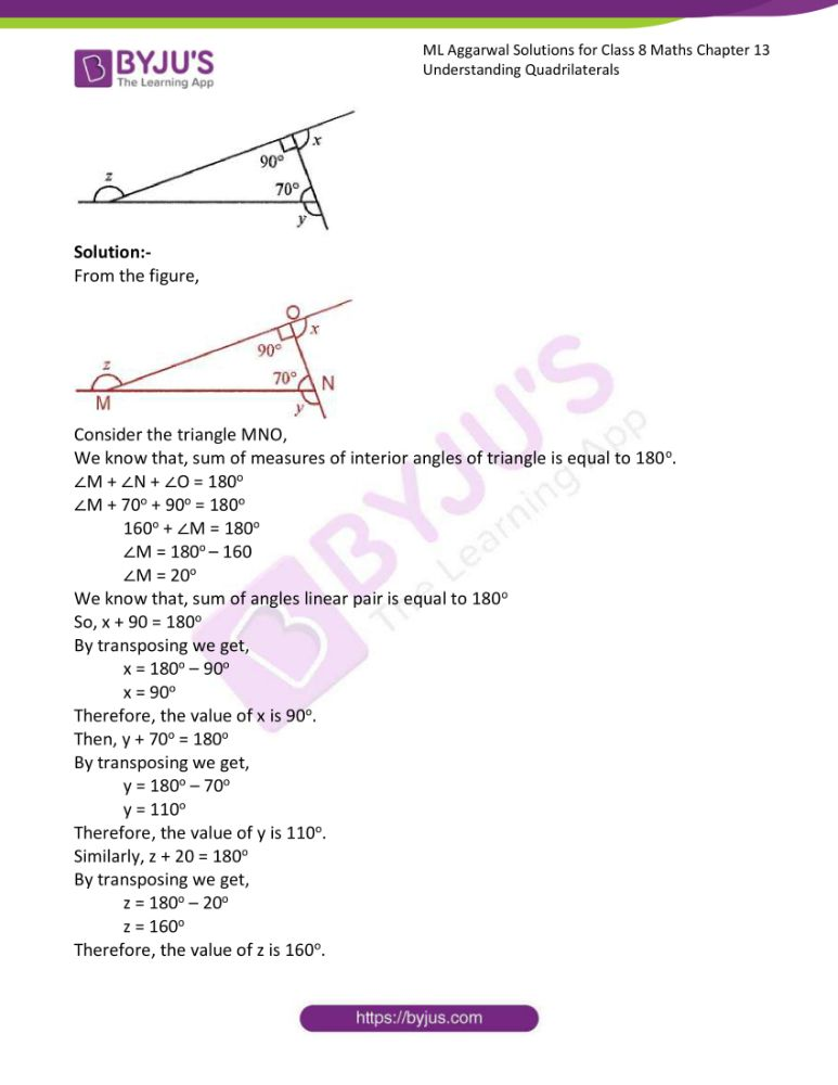 ml aggarwal solutions for class 8 maths chapter 13 13