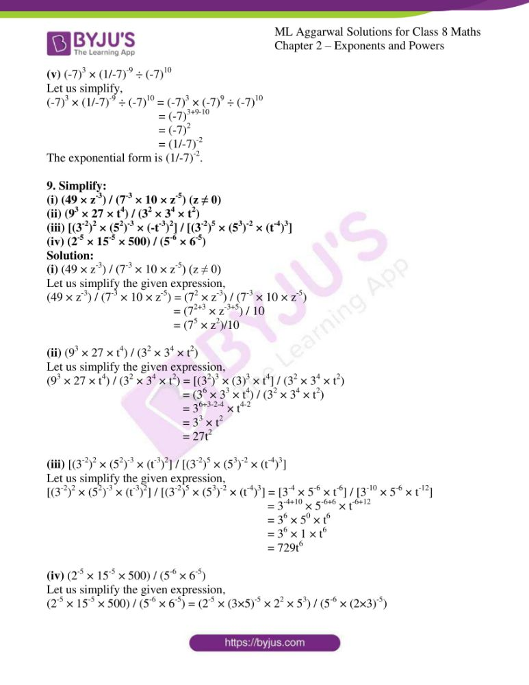 ml aggarwal solutions for class 8 maths chapter 2 07