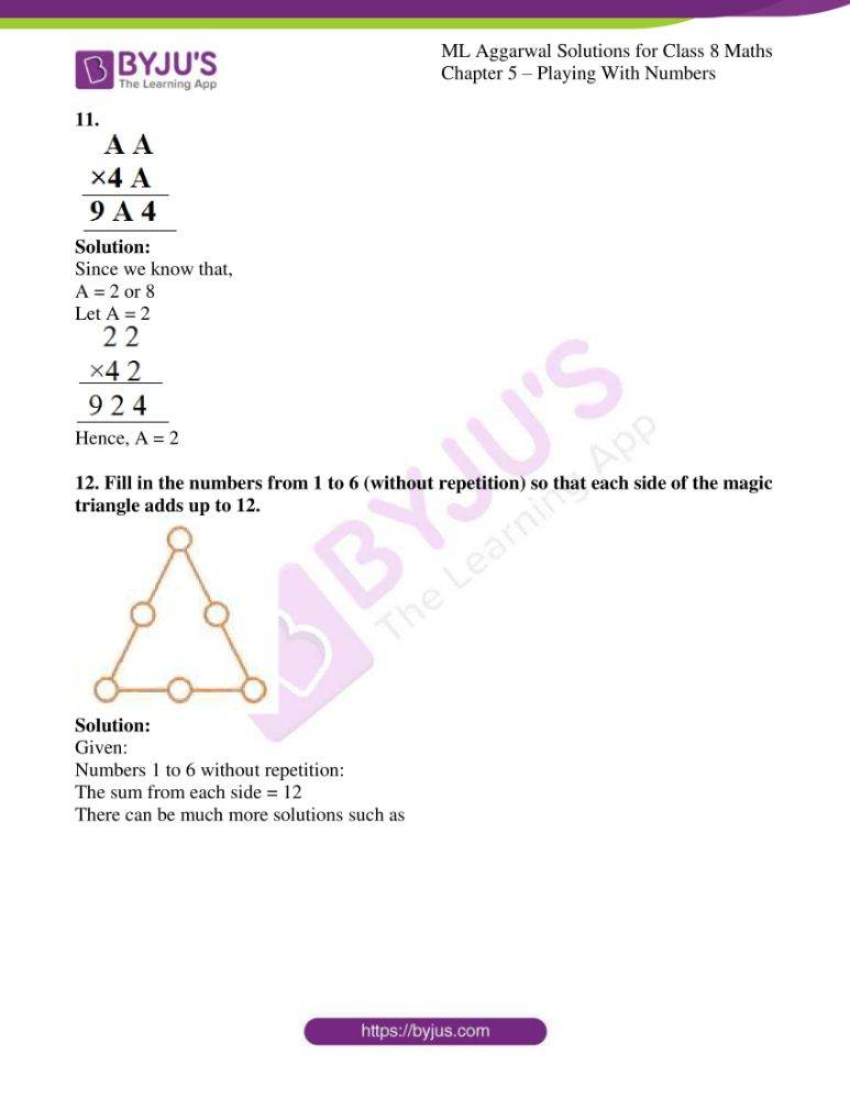 ml aggarwal solutions for class 8 maths chapter 5 12