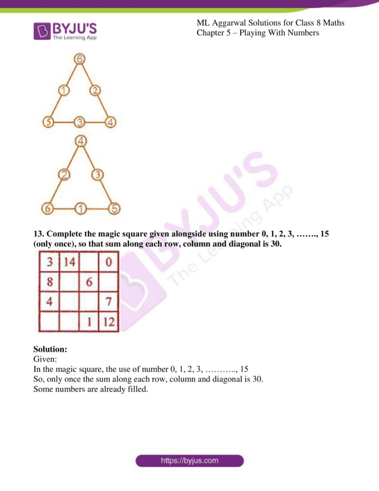 ml aggarwal solutions for class 8 maths chapter 5 13