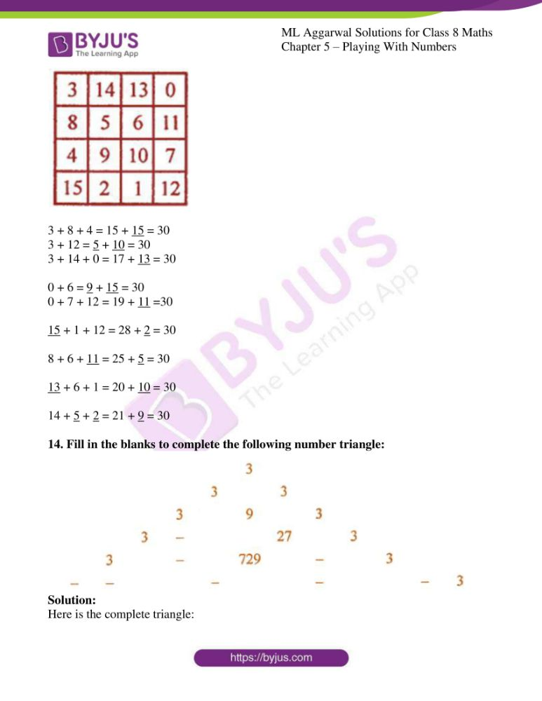 ml aggarwal solutions for class 8 maths chapter 5 14