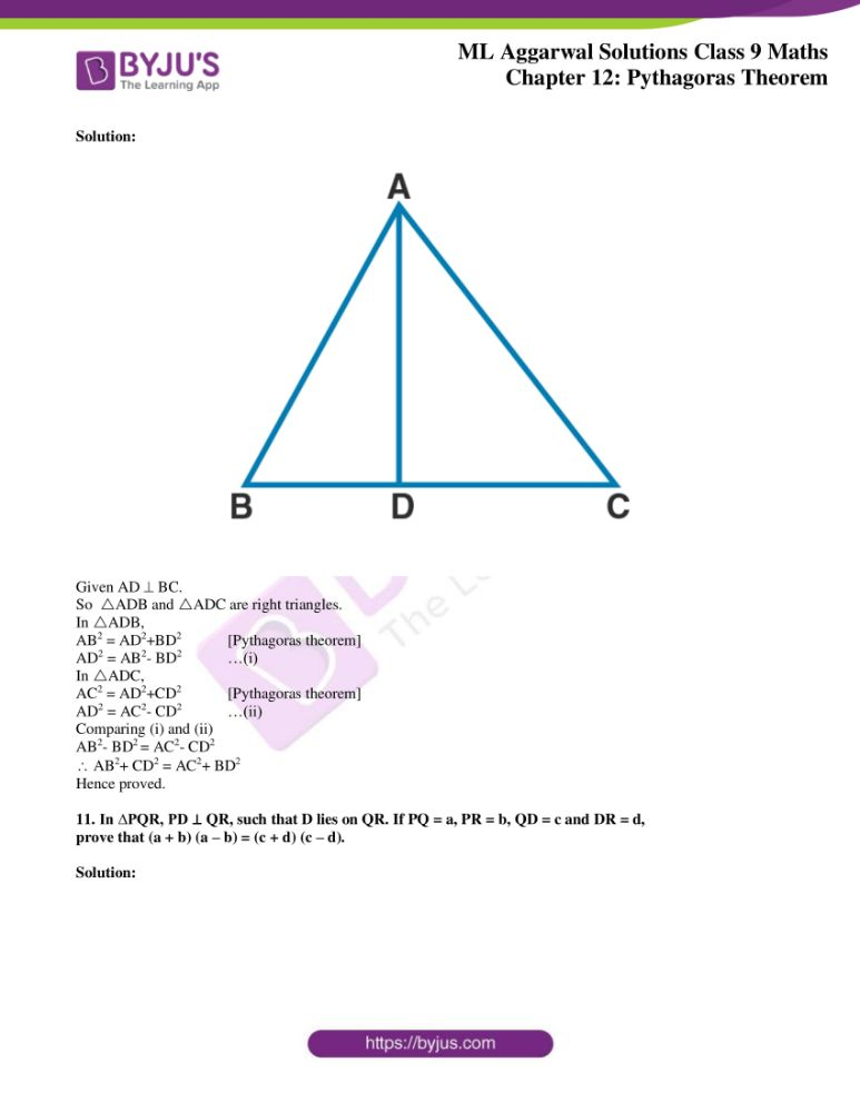 ml aggarwal solutions for class 9 maths chapter 12 09