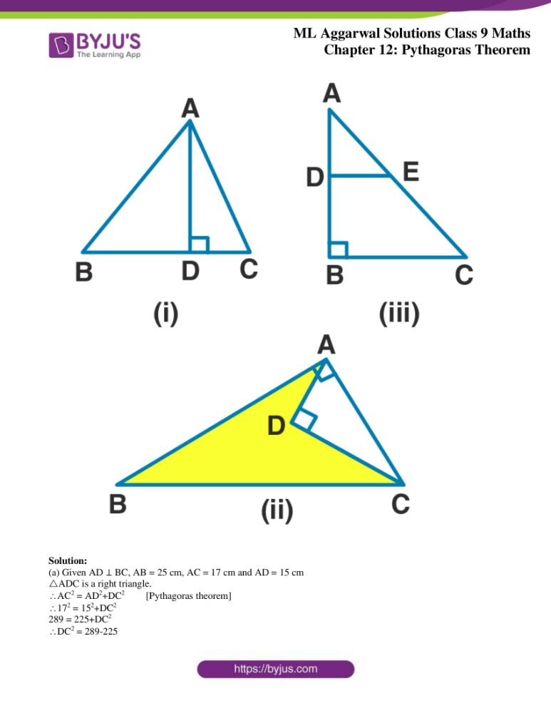 ml aggarwal solutions for class 9 maths chapter 12 32