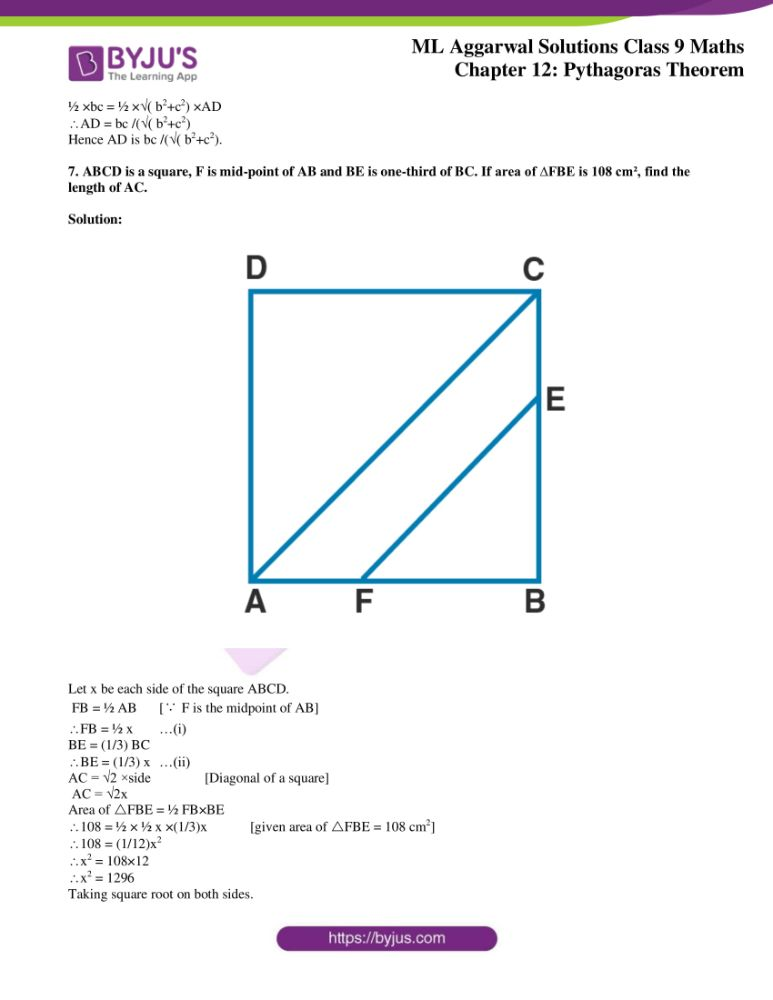 ml aggarwal solutions for class 9 maths chapter 12 41