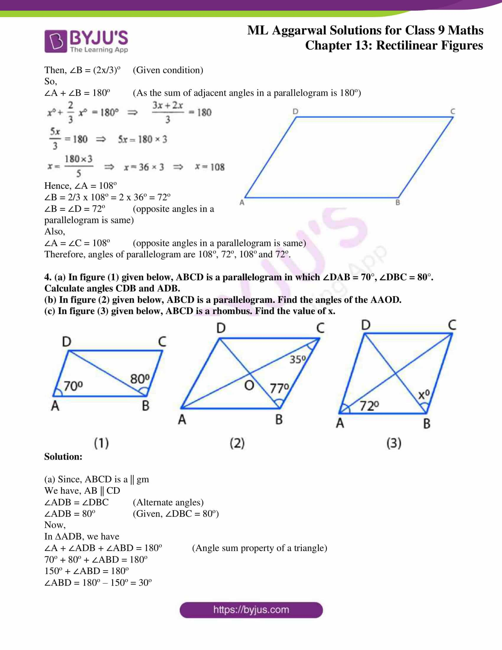 ml aggarwal solutions for class 9 maths chapter 13 02