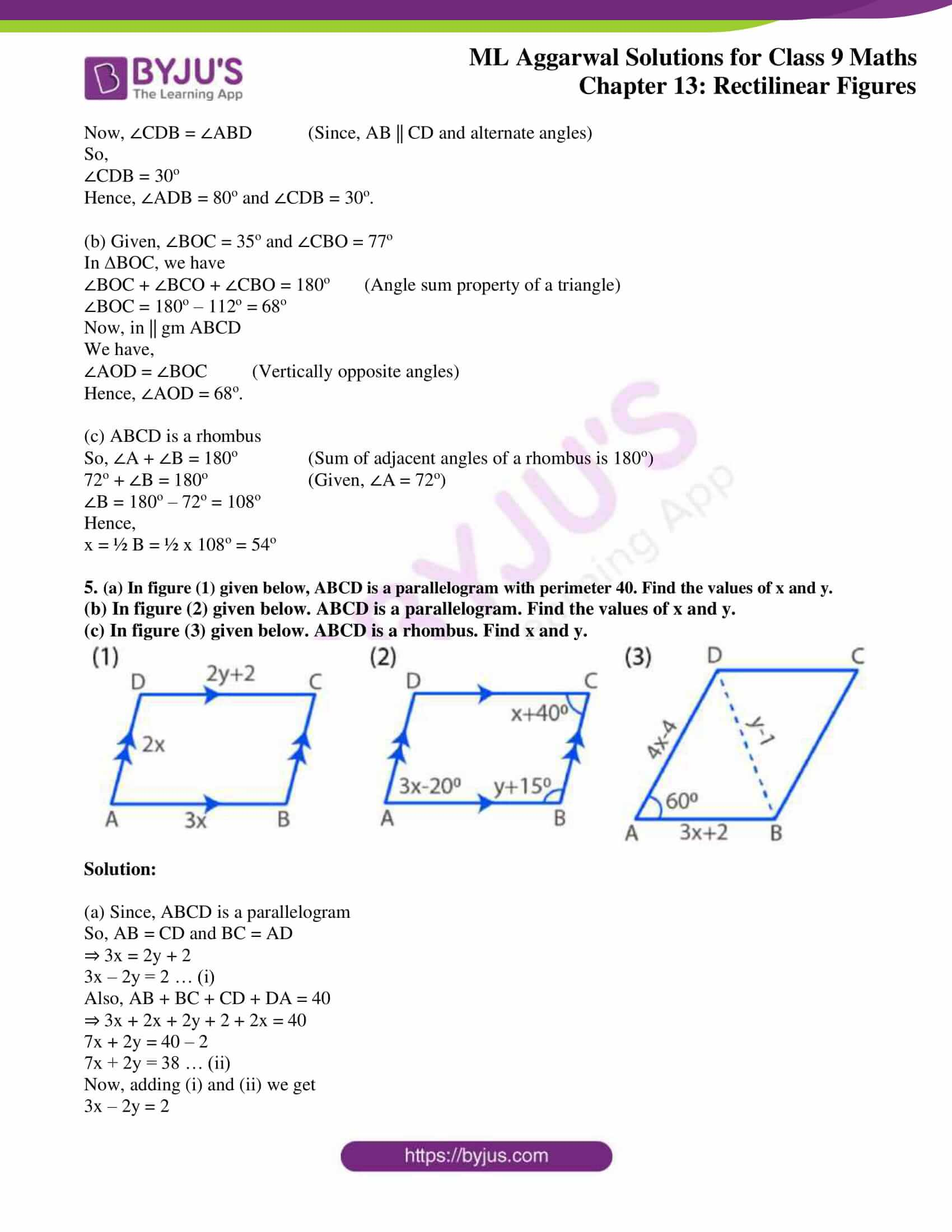ml aggarwal solutions for class 9 maths chapter 13 03