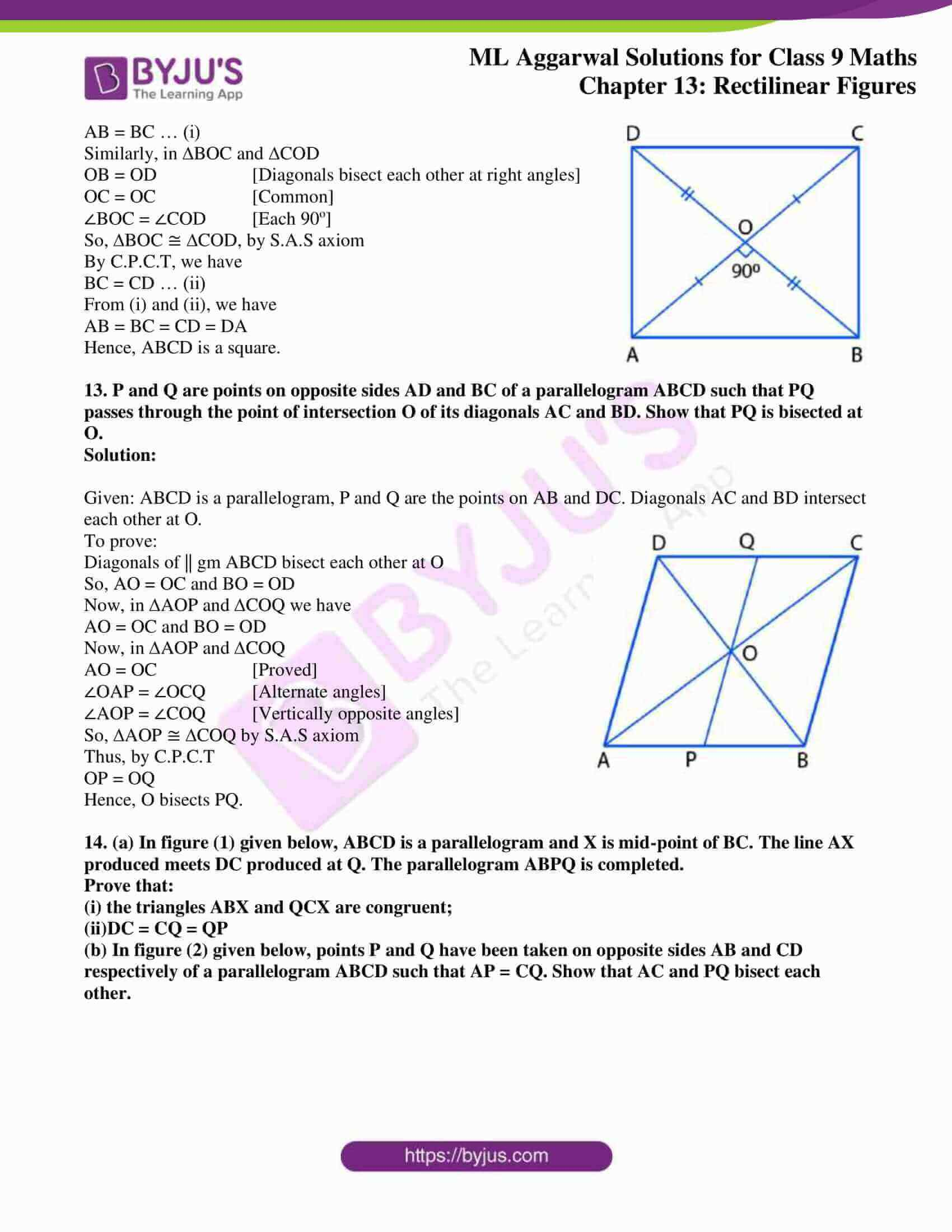 ml aggarwal solutions for class 9 maths chapter 13 13