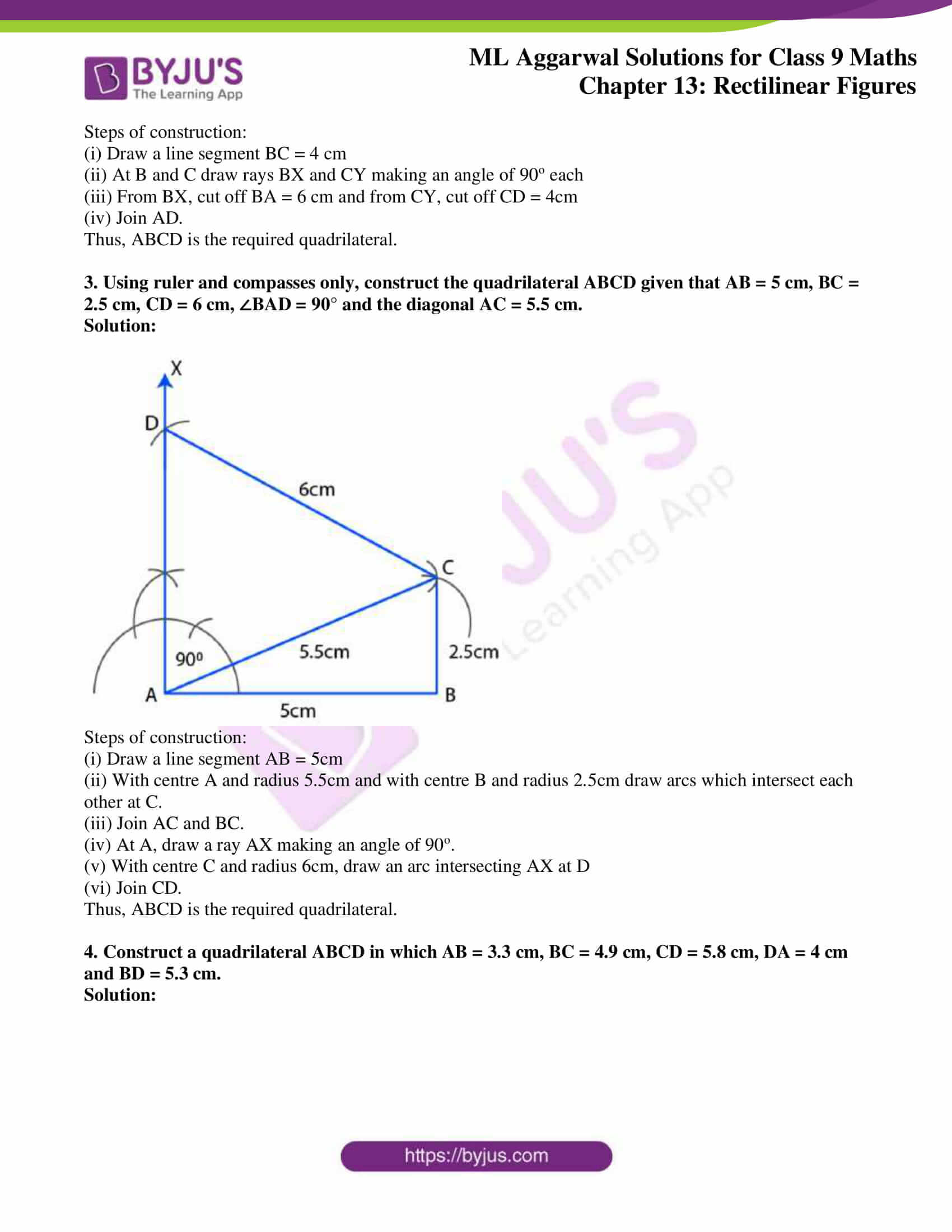 ml aggarwal solutions for class 9 maths chapter 13 25