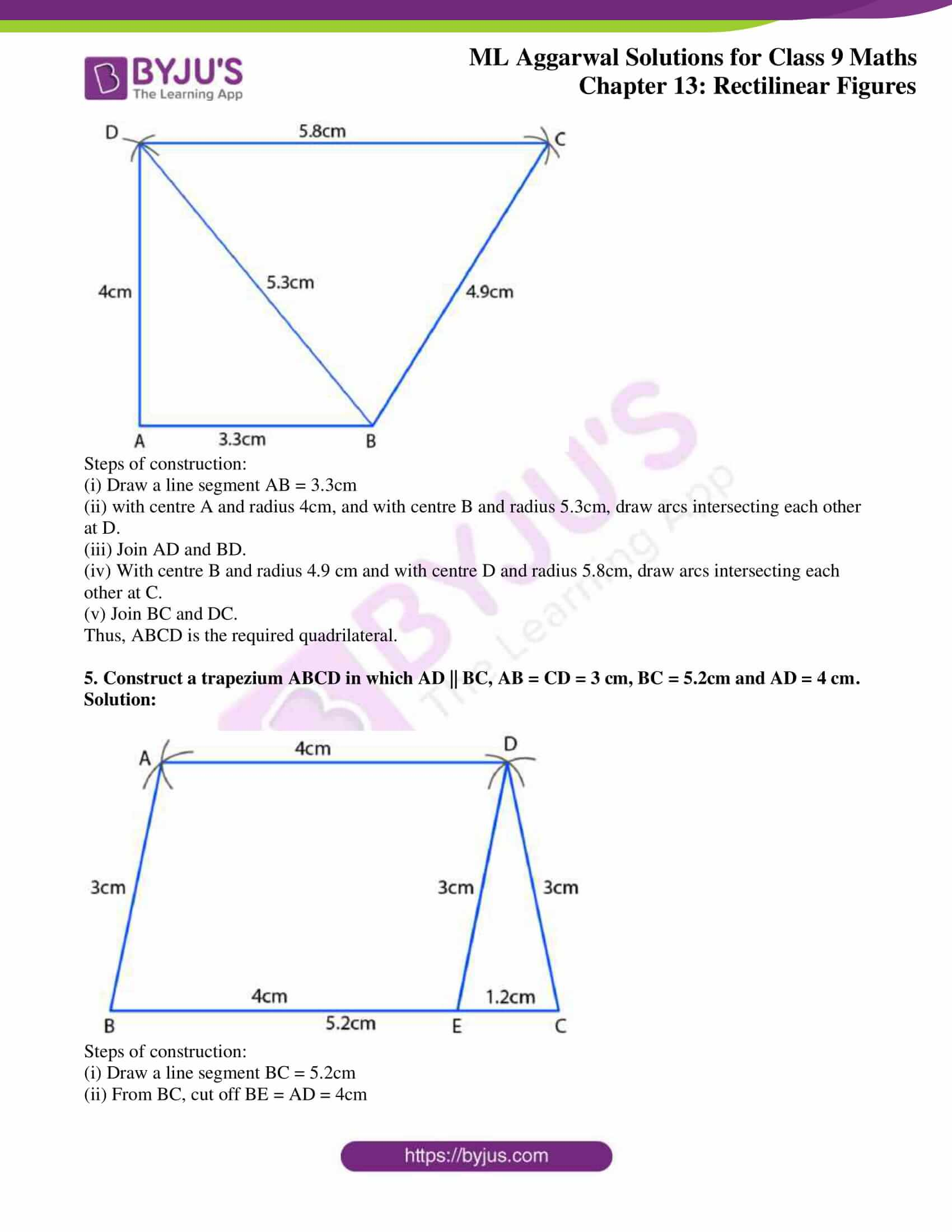 ml aggarwal solutions for class 9 maths chapter 13 26