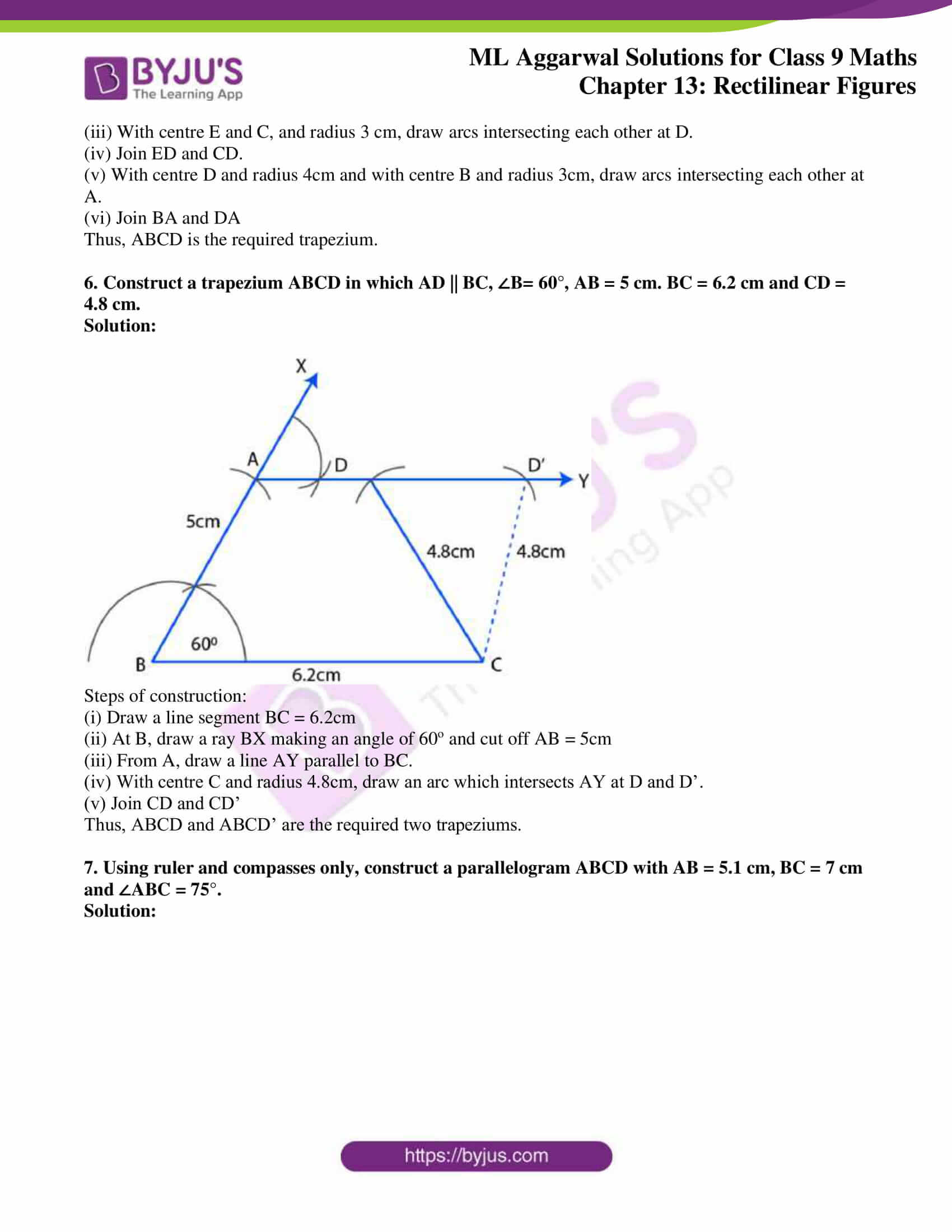 ml aggarwal solutions for class 9 maths chapter 13 27