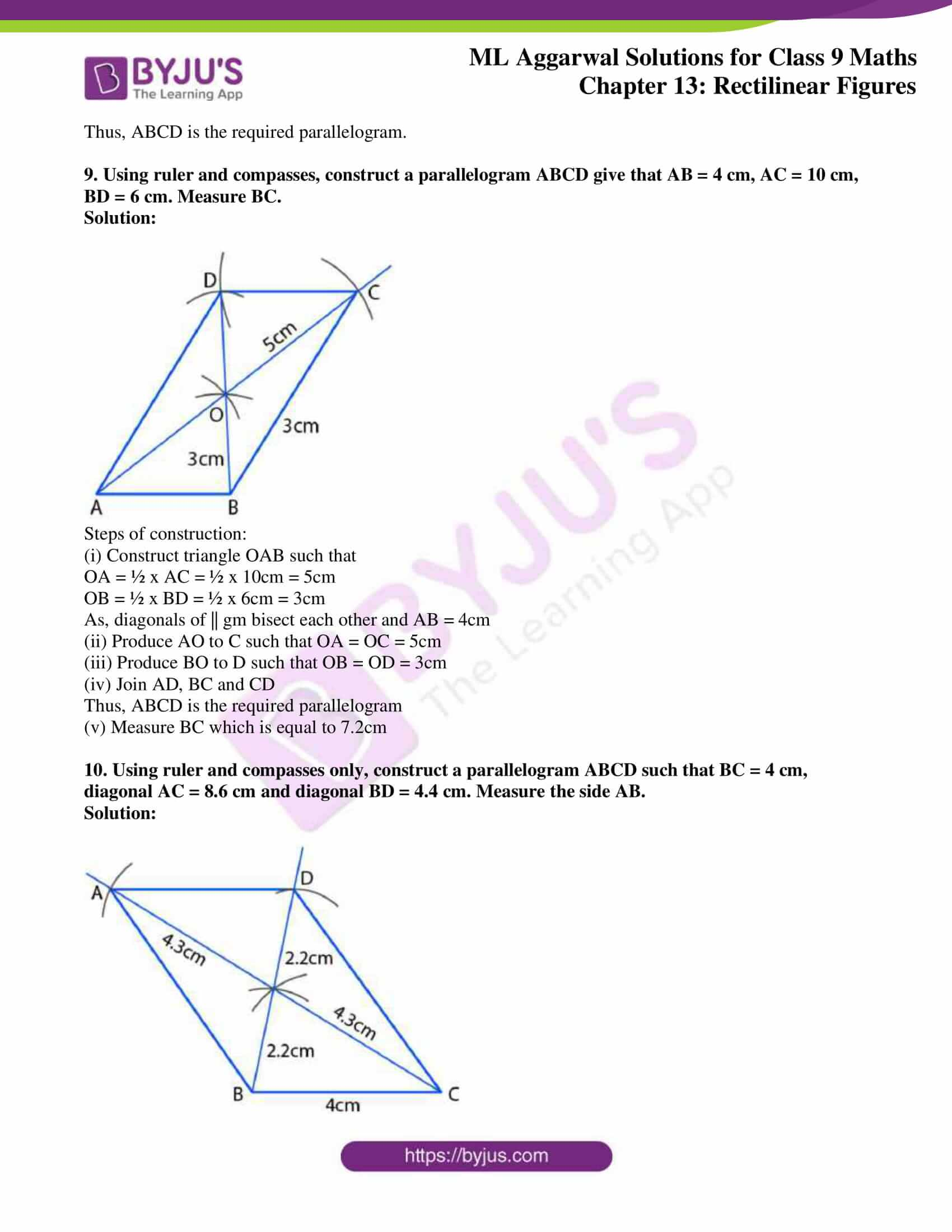 ml aggarwal solutions for class 9 maths chapter 13 29