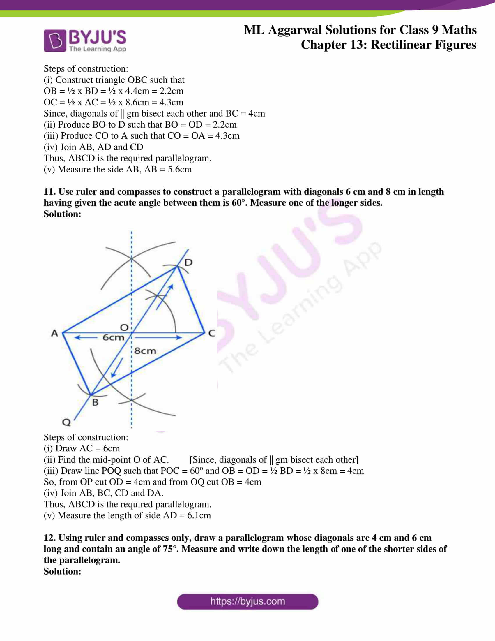 ml aggarwal solutions for class 9 maths chapter 13 30