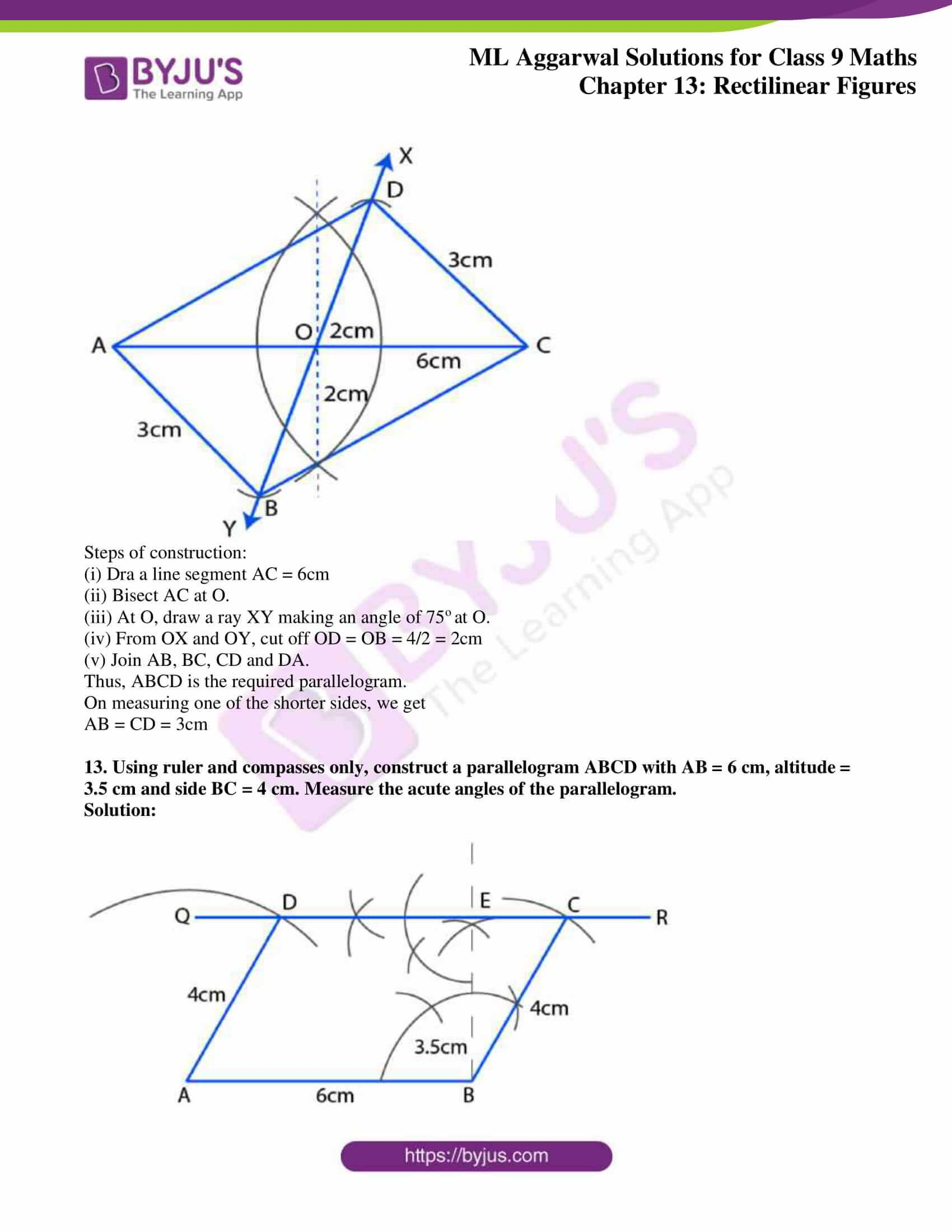 ml aggarwal solutions for class 9 maths chapter 13 31