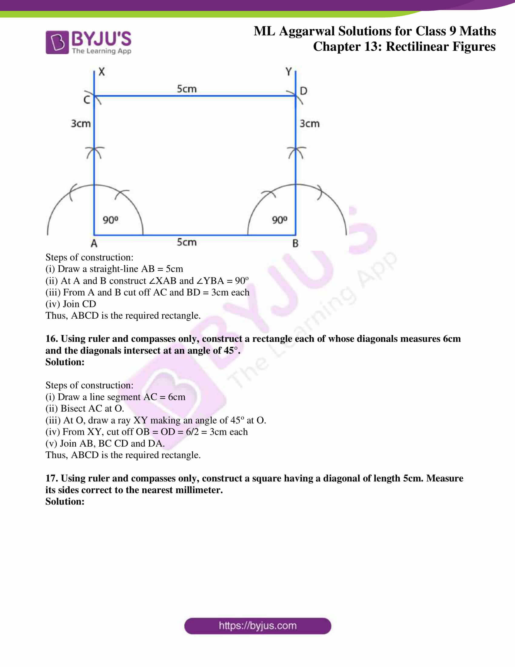 ml aggarwal solutions for class 9 maths chapter 13 33