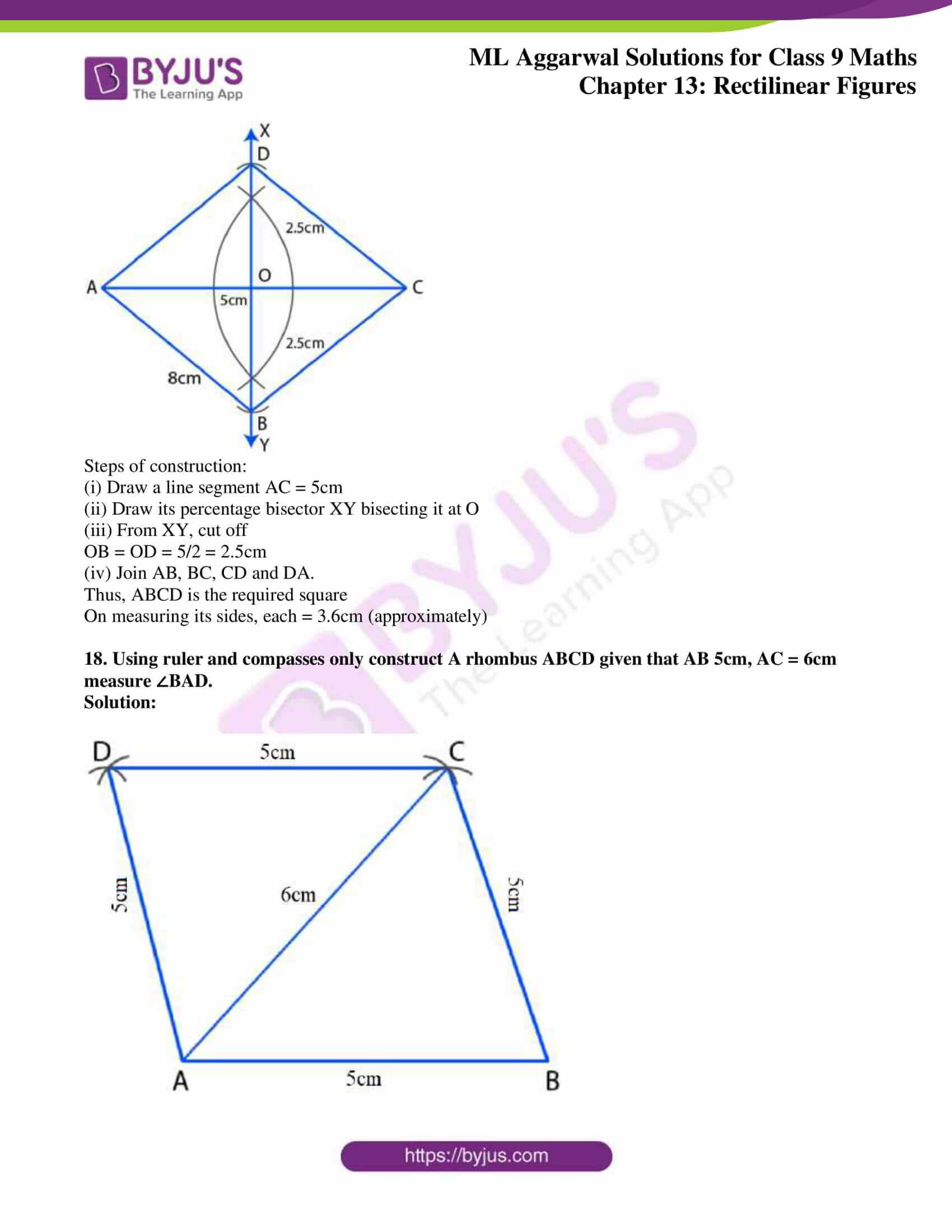 ml aggarwal solutions for class 9 maths chapter 13 34