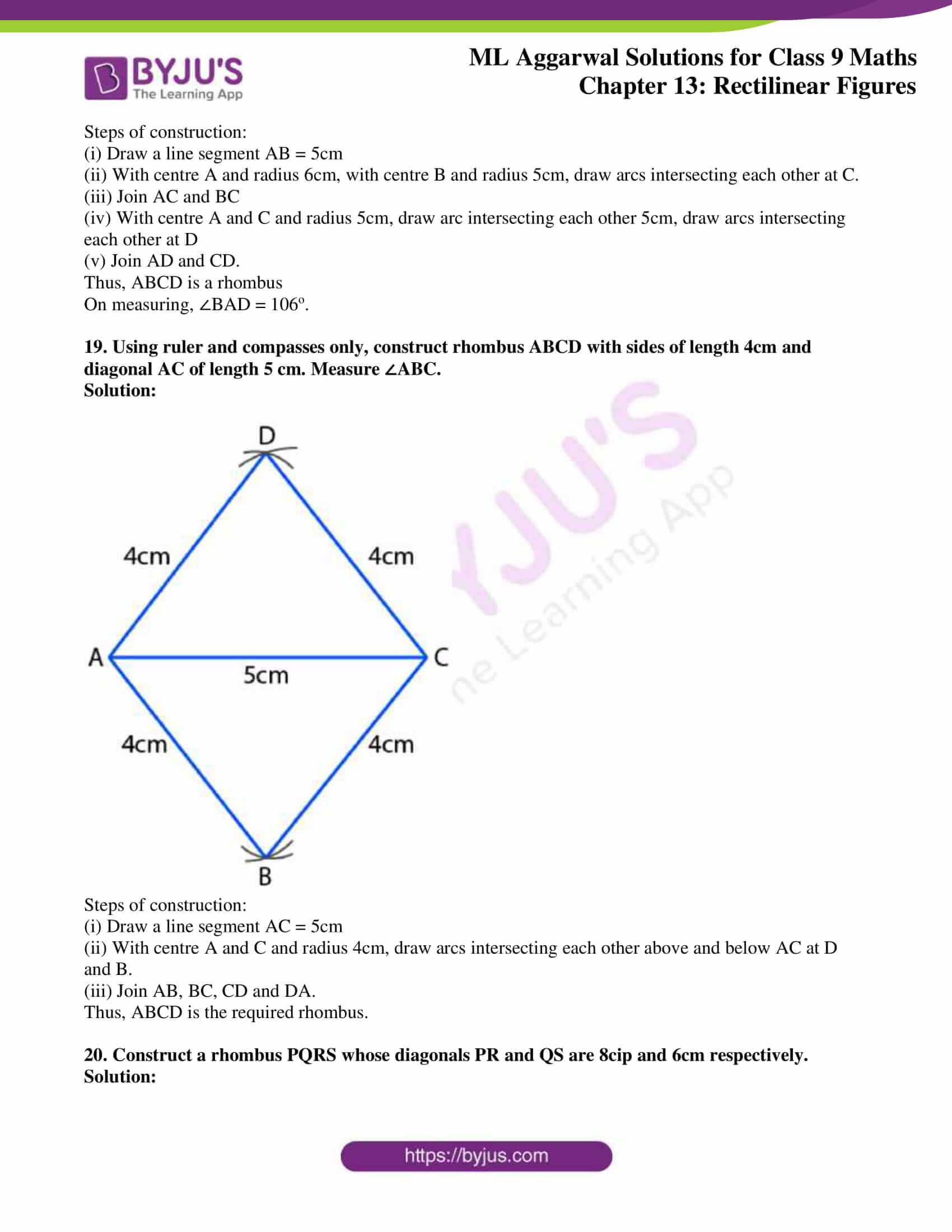 ml aggarwal solutions for class 9 maths chapter 13 35