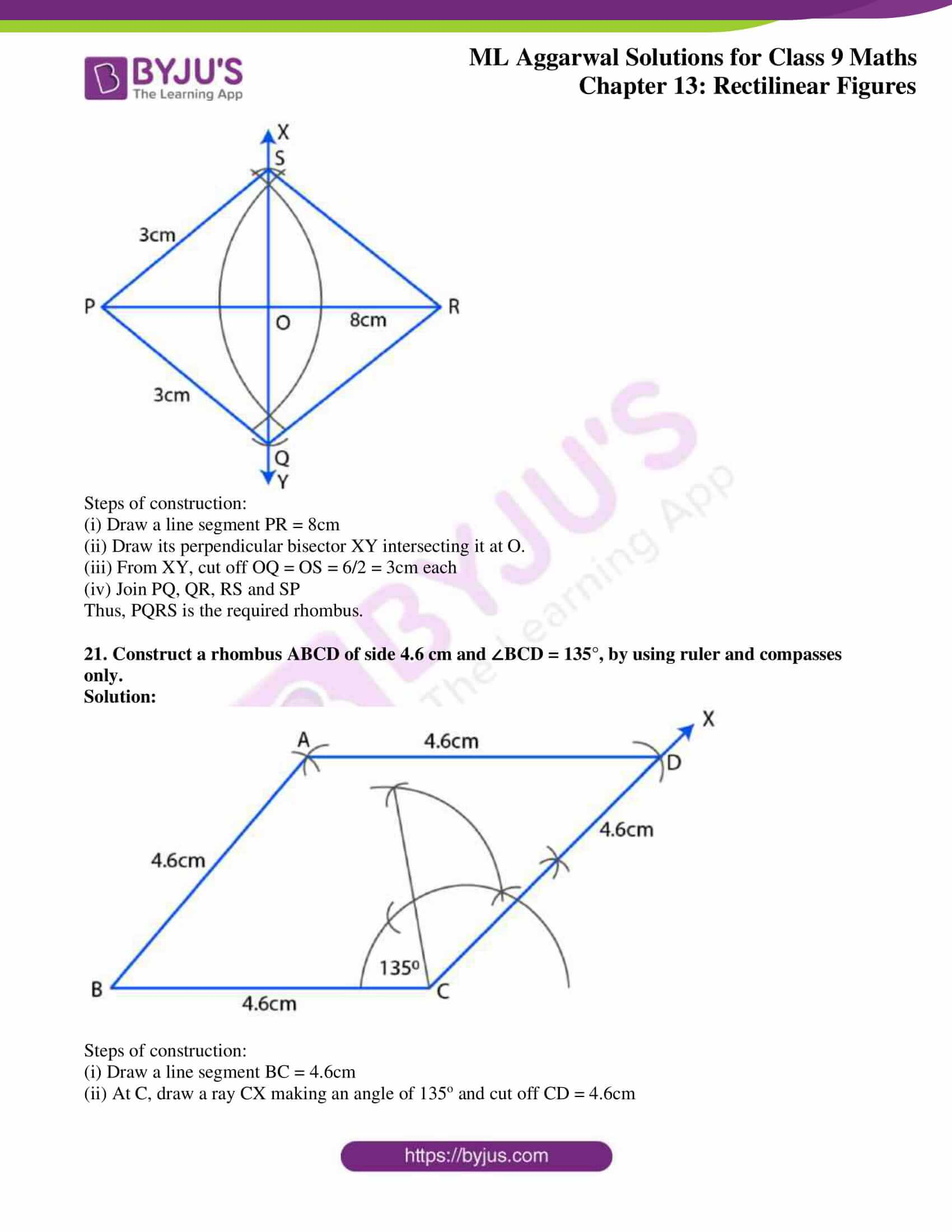 ml aggarwal solutions for class 9 maths chapter 13 36