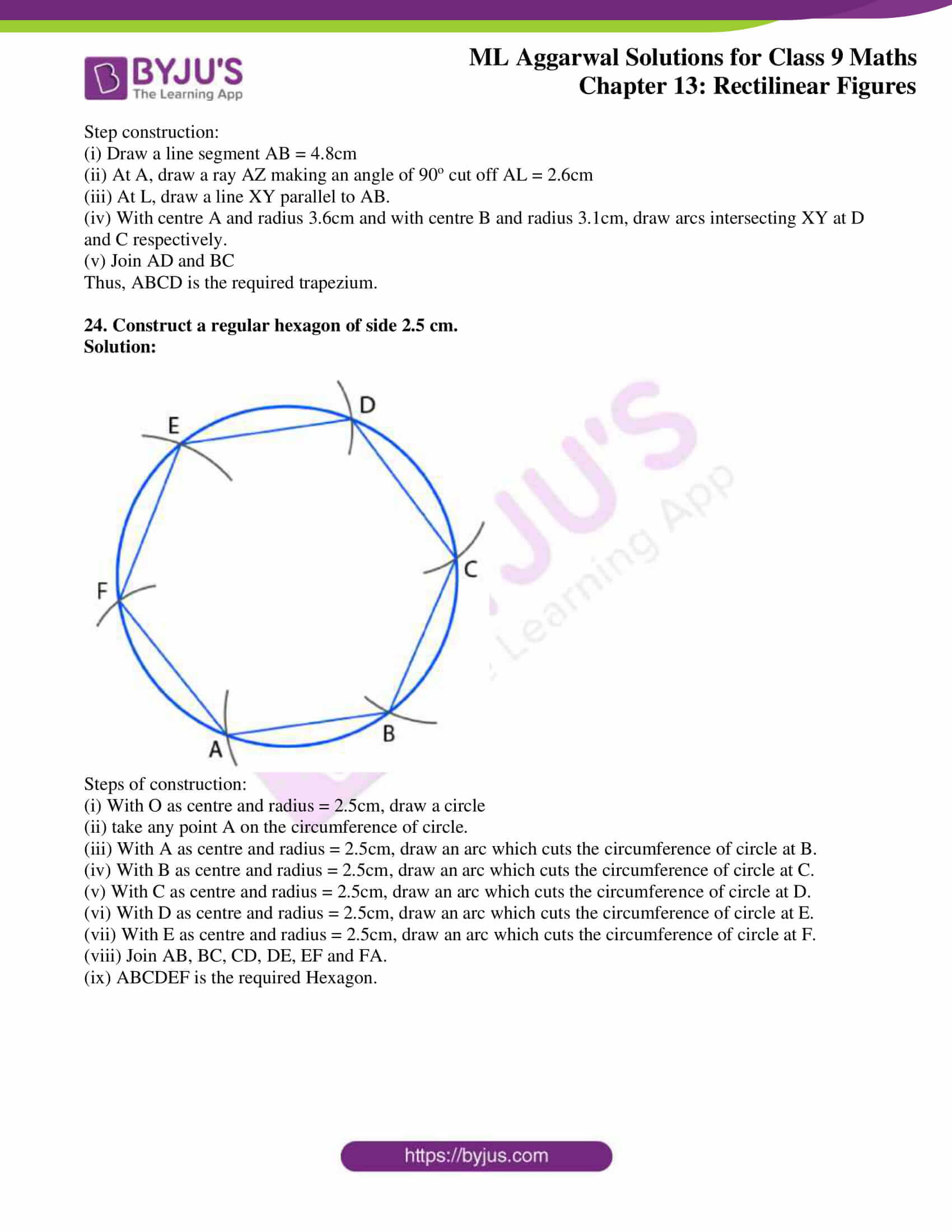 ml aggarwal solutions for class 9 maths chapter 13 38