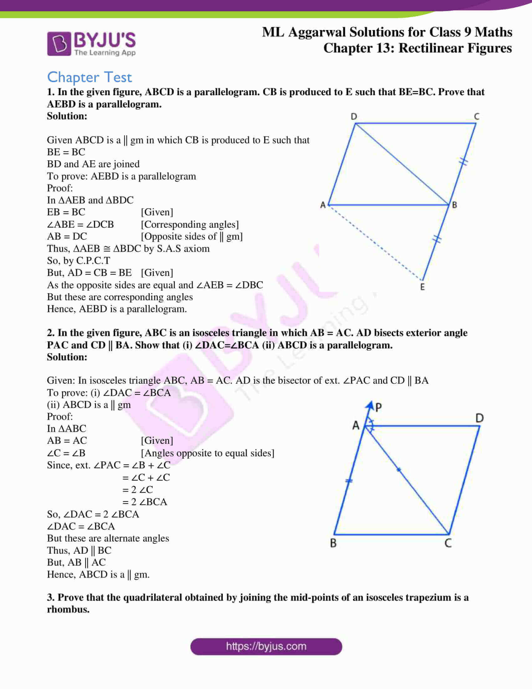 ml aggarwal solutions for class 9 maths chapter 13 39