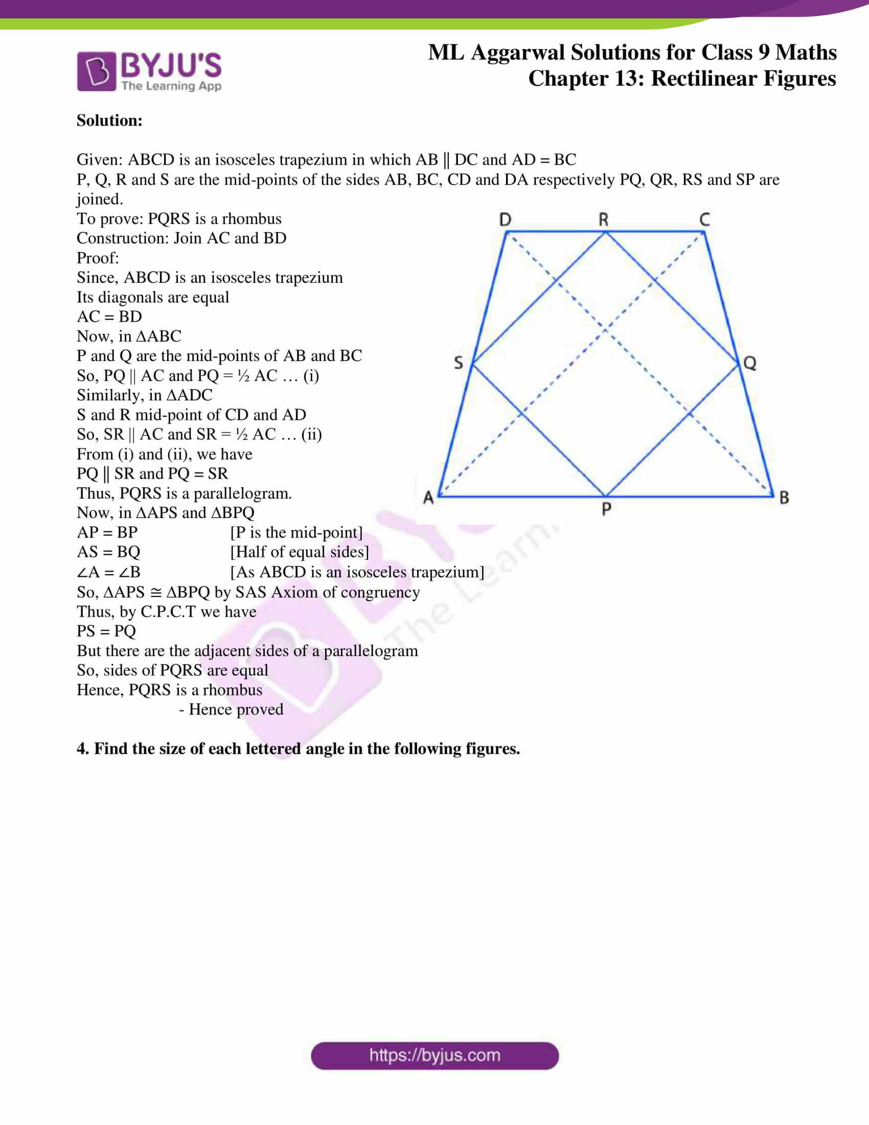 ml aggarwal solutions for class 9 maths chapter 13 40