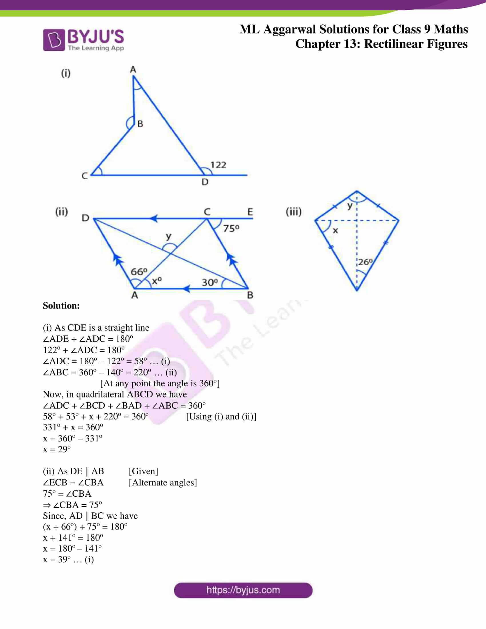 ml aggarwal solutions for class 9 maths chapter 13 41