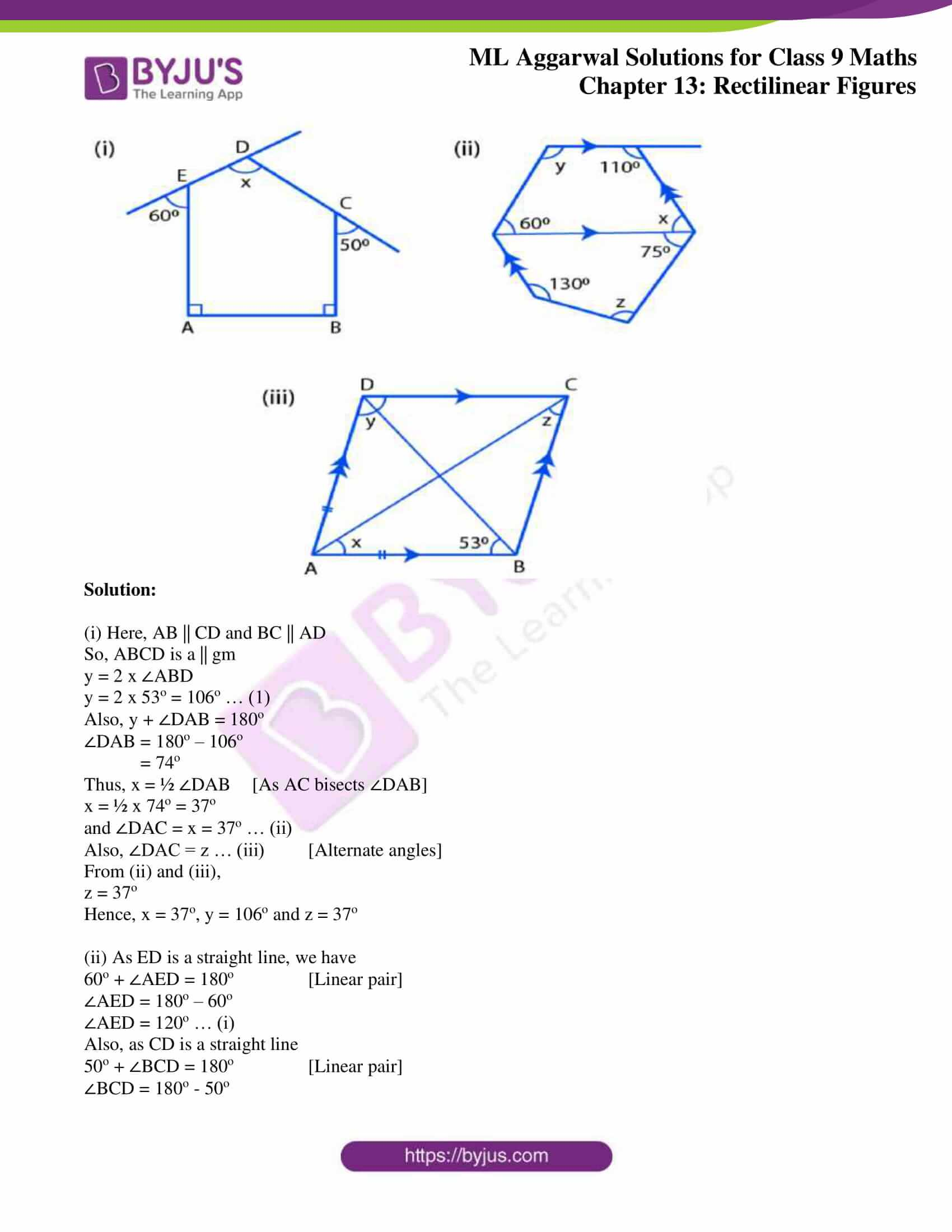 ml aggarwal solutions for class 9 maths chapter 13 43