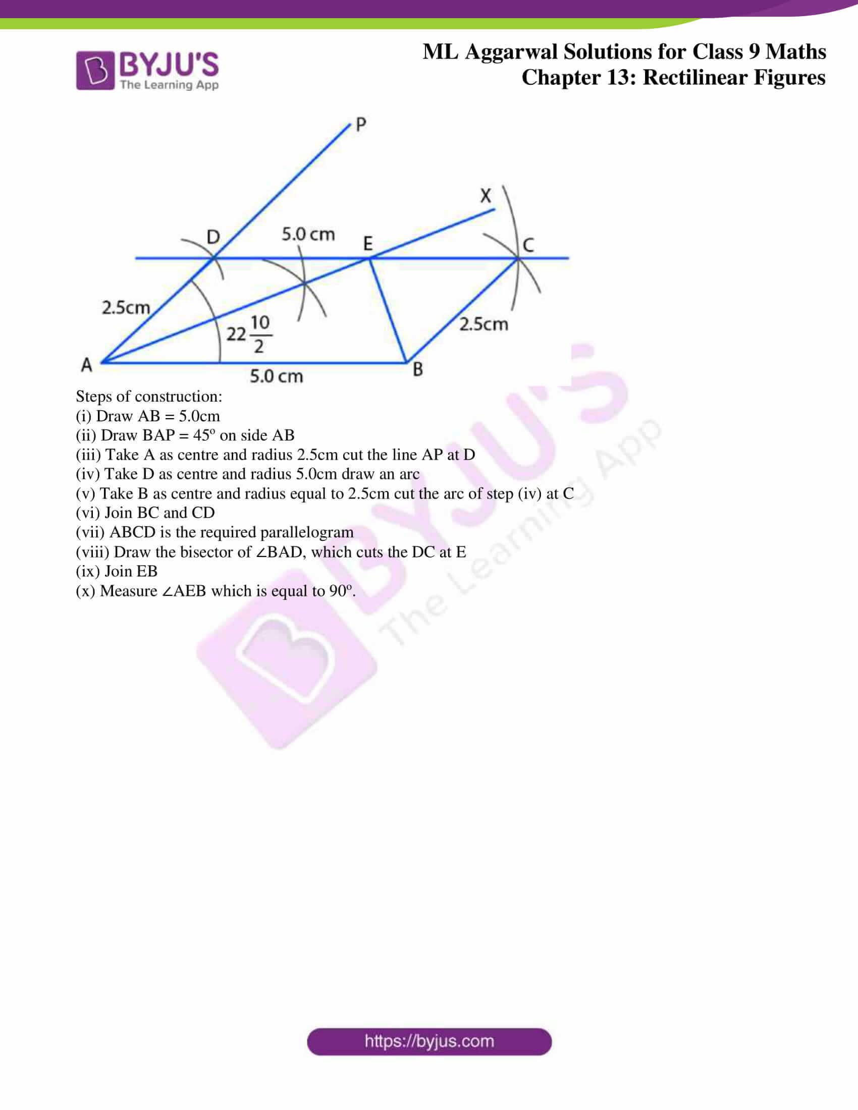 ml aggarwal solutions for class 9 maths chapter 13 46