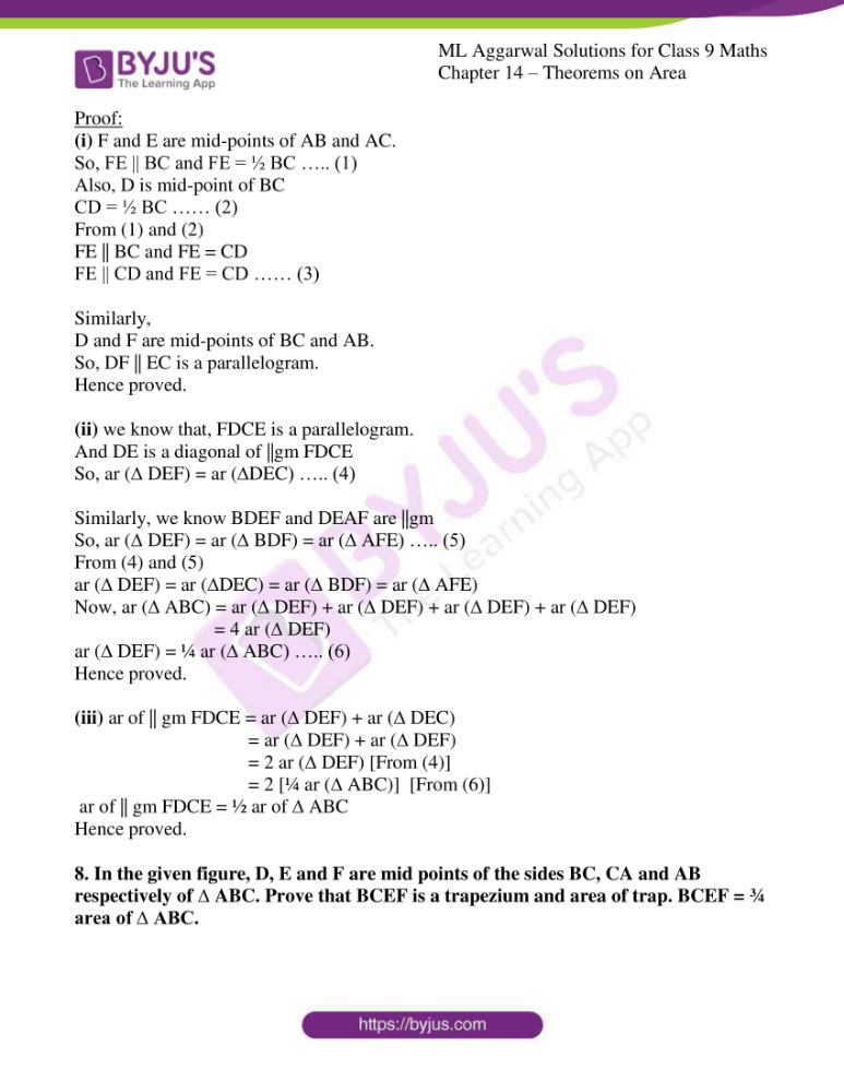 ml aggarwal solutions for class 9 maths chapter 14 09
