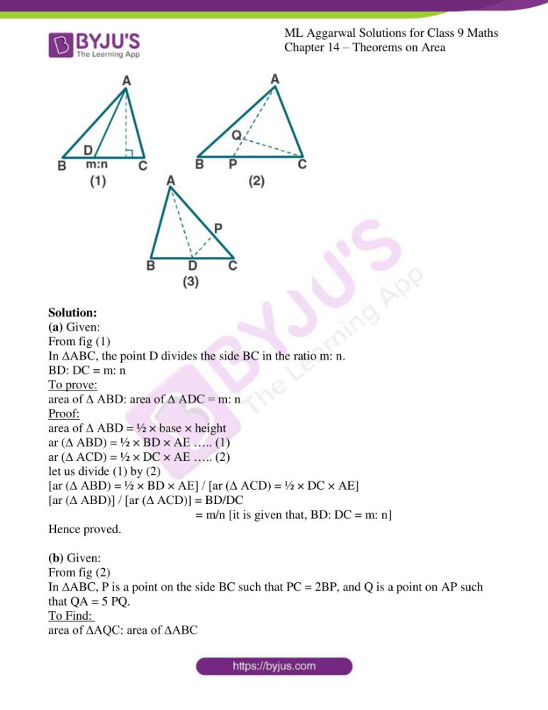 ml aggarwal solutions for class 9 maths chapter 14 11