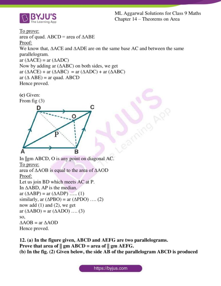 ml aggarwal solutions for class 9 maths chapter 14 18