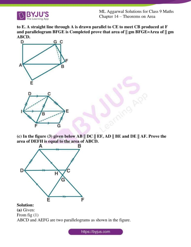 ml aggarwal solutions for class 9 maths chapter 14 19