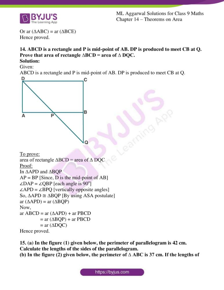 ml aggarwal solutions for class 9 maths chapter 14 22