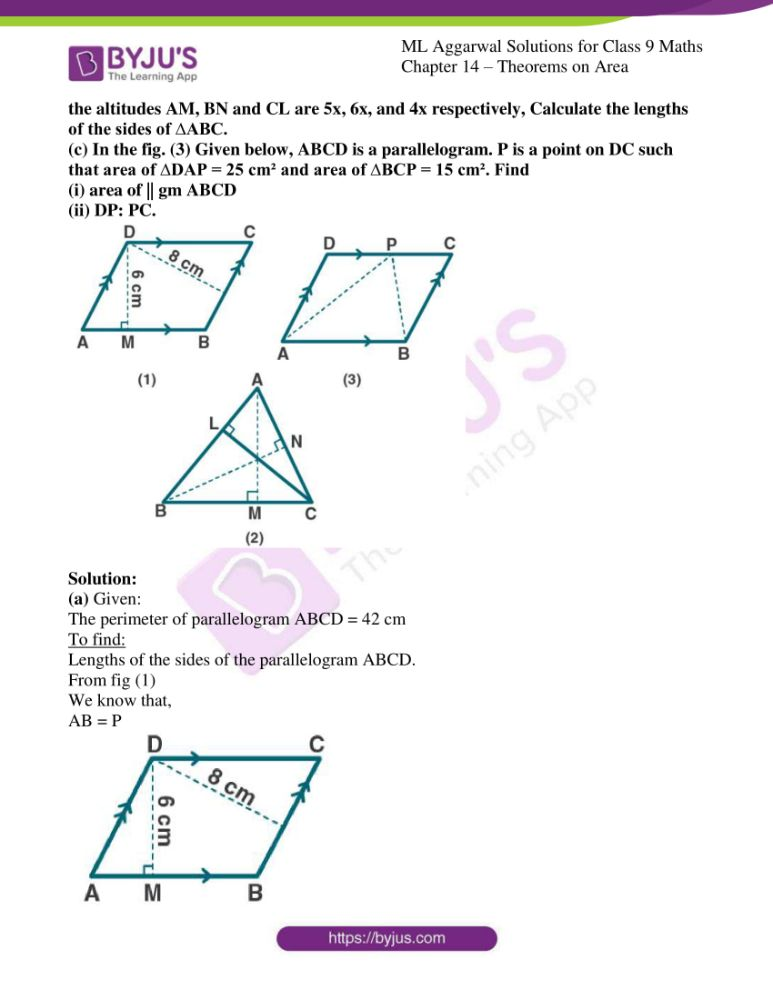 ml aggarwal solutions for class 9 maths chapter 14 23